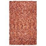 *8' X 10' - Poarch Hand-Loomed and Handmade Shag Rust Area Rug