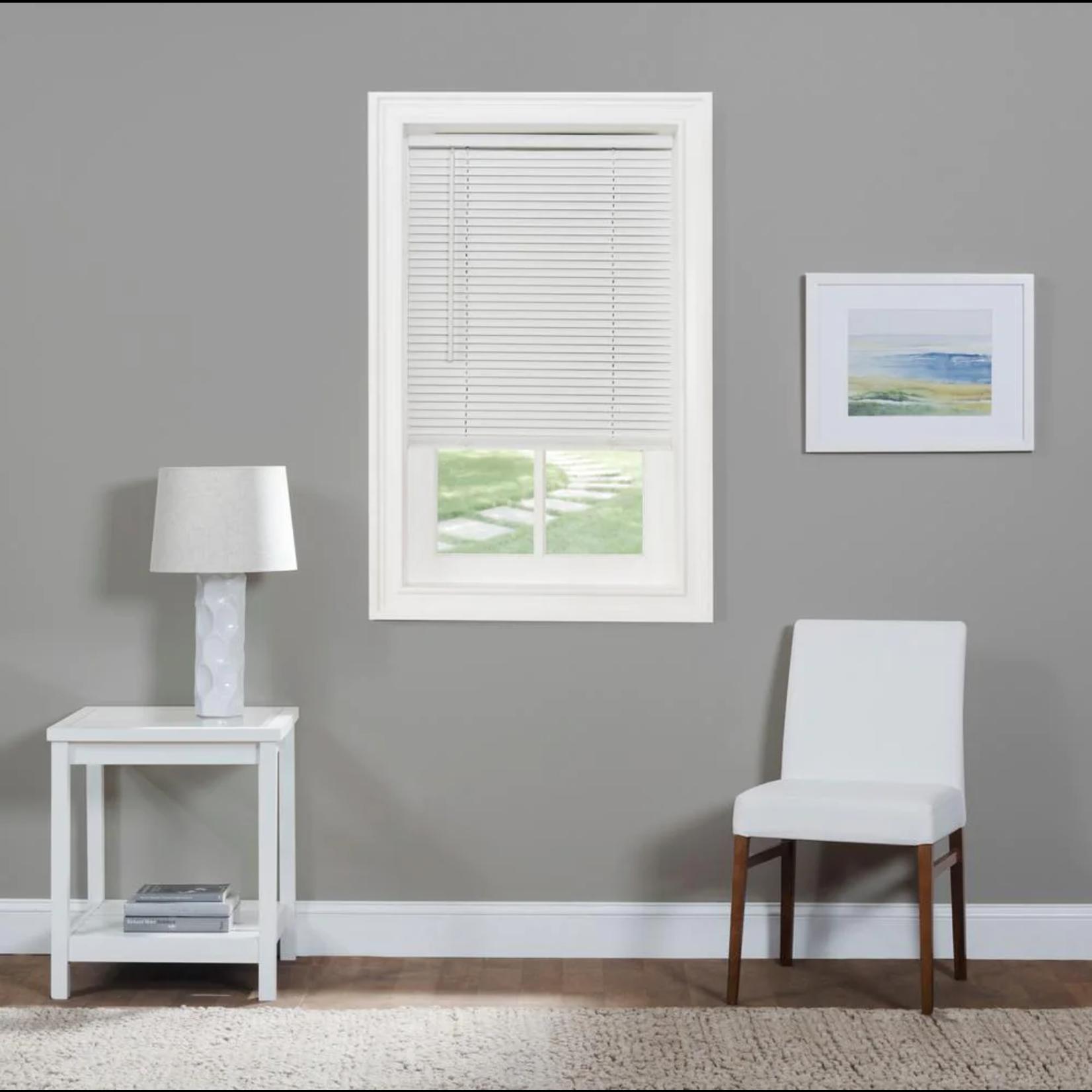 "*Wayfair Basics Semi-Sheer Horizontal/Venetian Blind 33"" x 64"" - Pearl White -  Hardware not included - Final Sale"