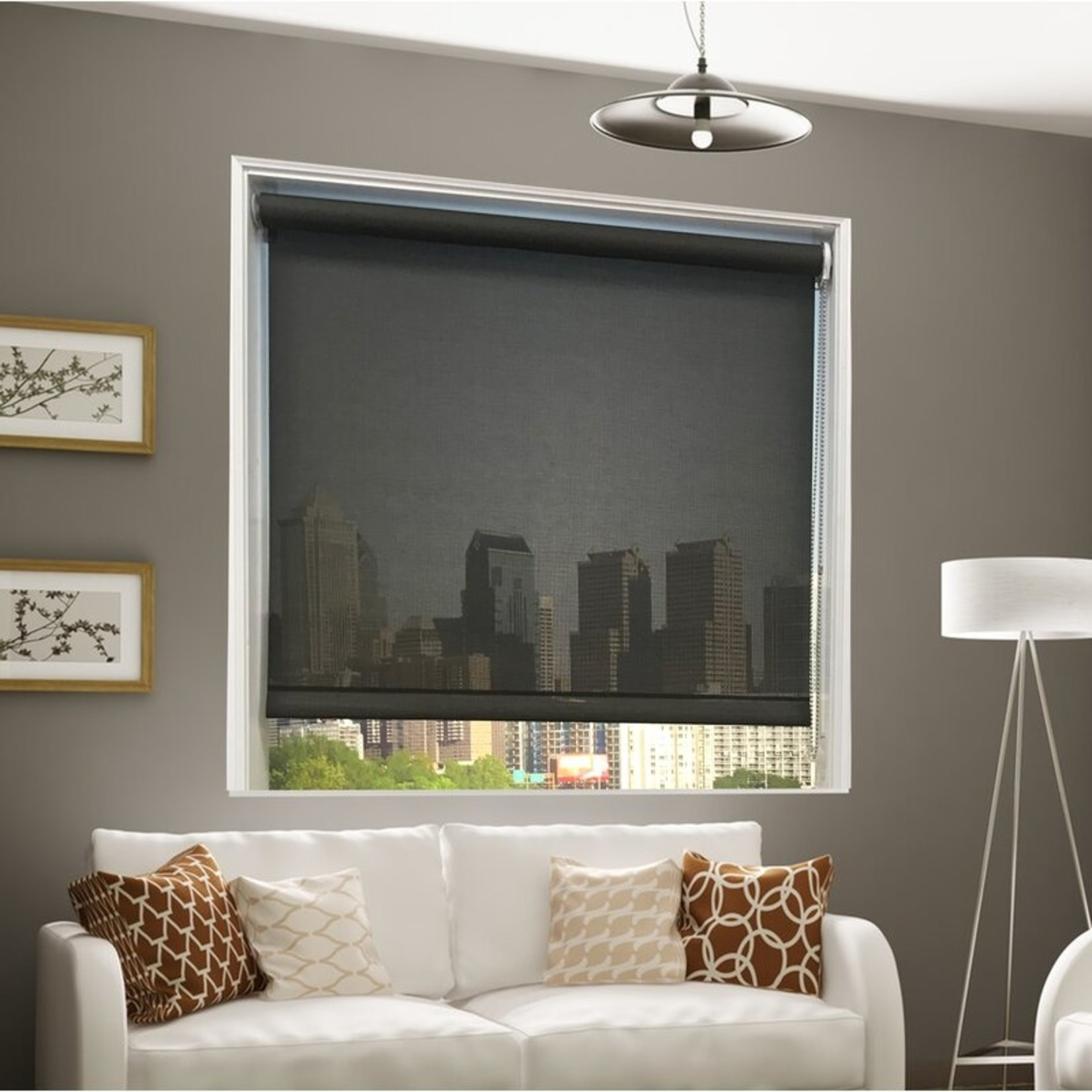 "*Interior Sheer Solar Shade - 35"" x 72"" - Final Sale"