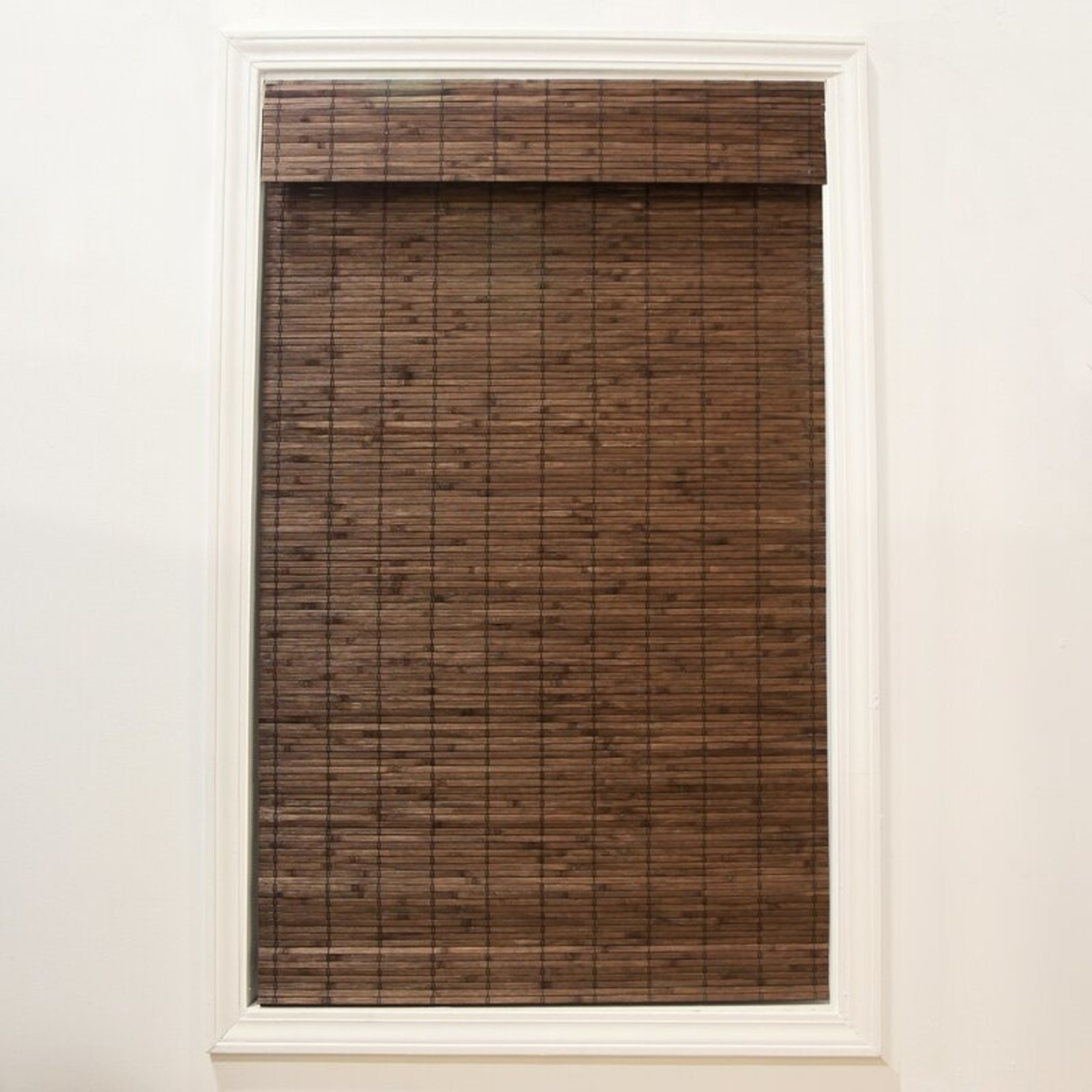 "*Gyala Cordless Flatstick Semi-Sheer Roman Shade - 26"" x 64"" - Final Sale"