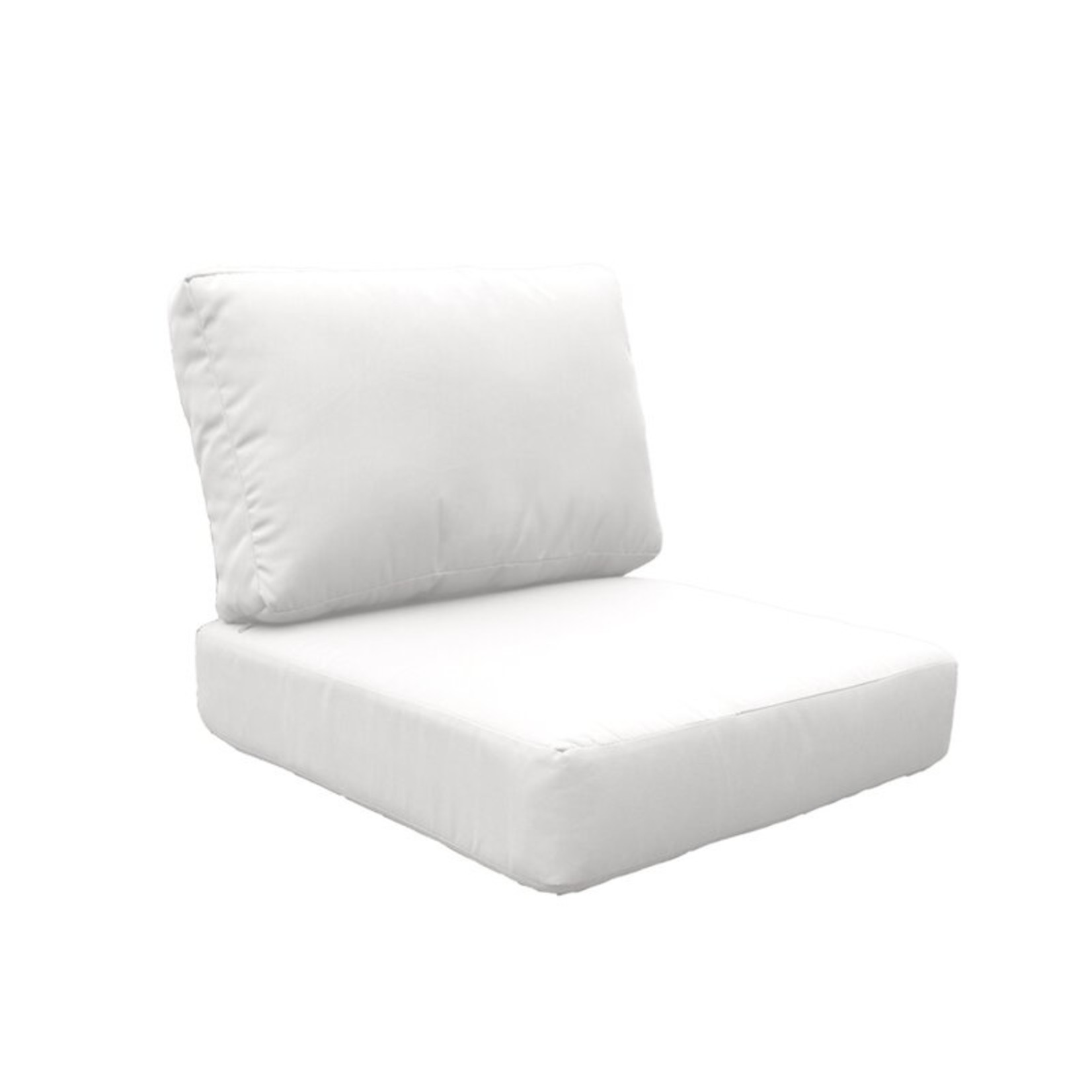 *Damontray Indoor/Outdoor Cushion Cover Set (Covers Only)  - White - Final Sale