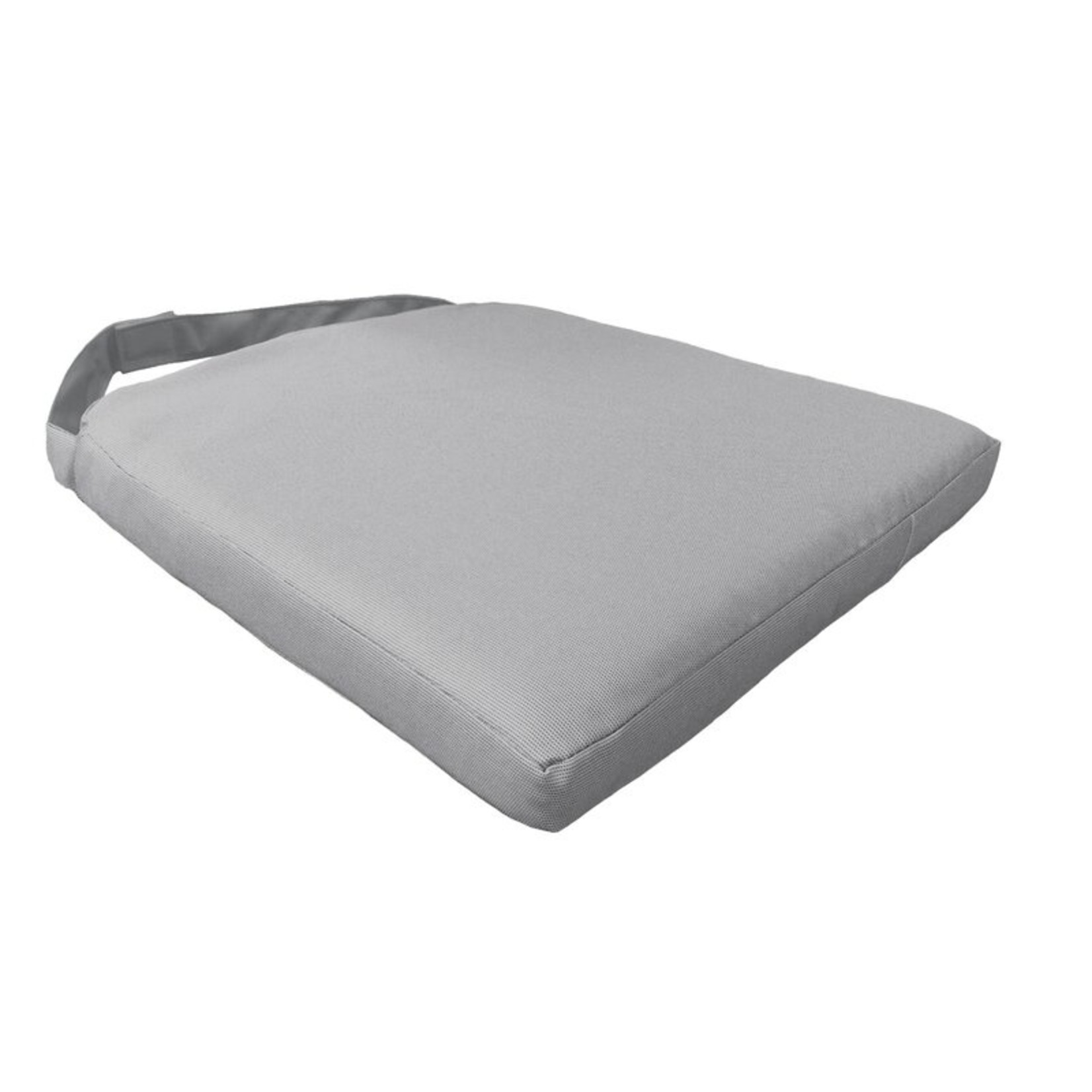 *Outdoor Cushion Cover (Covers Only) - Grey - Set of 2 -  Final Sale