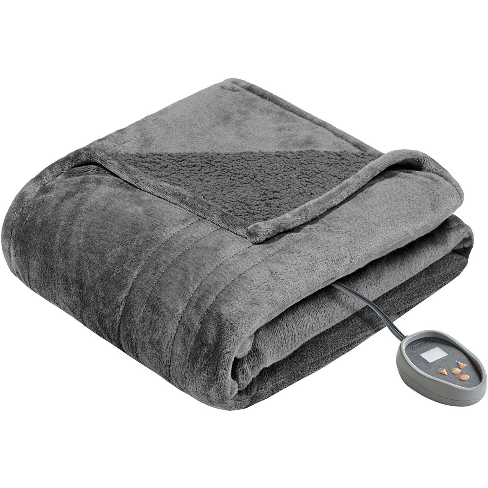 *Full - Heated Plush Blanket - Final Sale