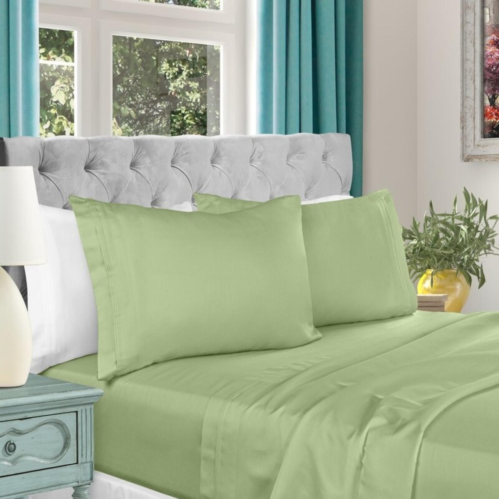 *Cal King - Amherst 1000 Thread Count Egyptian Certified Cotton Sateen Sheet Set - Final Sale