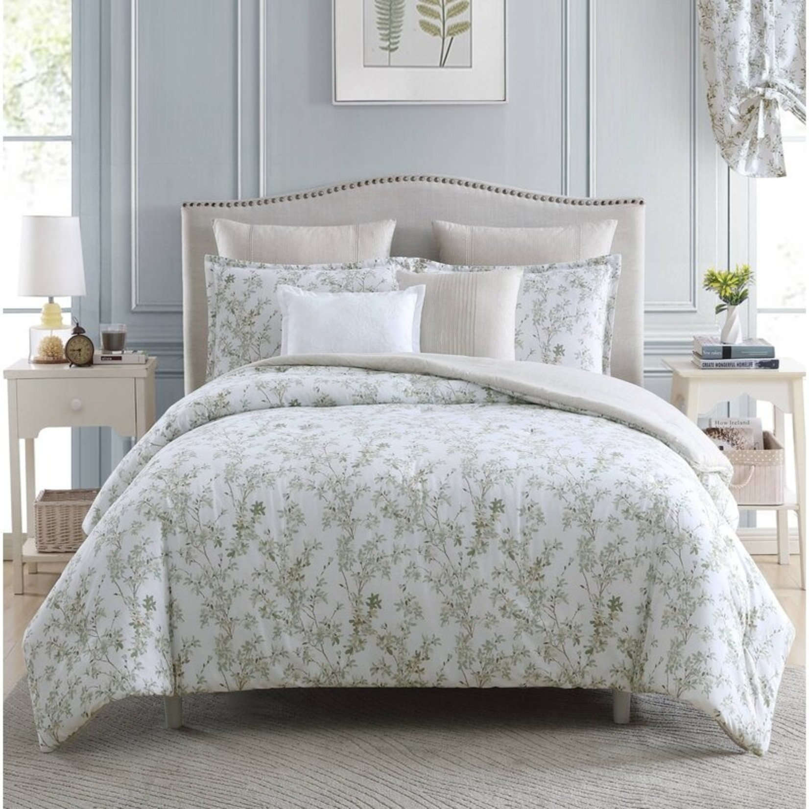 *King - Lindy Reversible Comforter Set - Final Sale