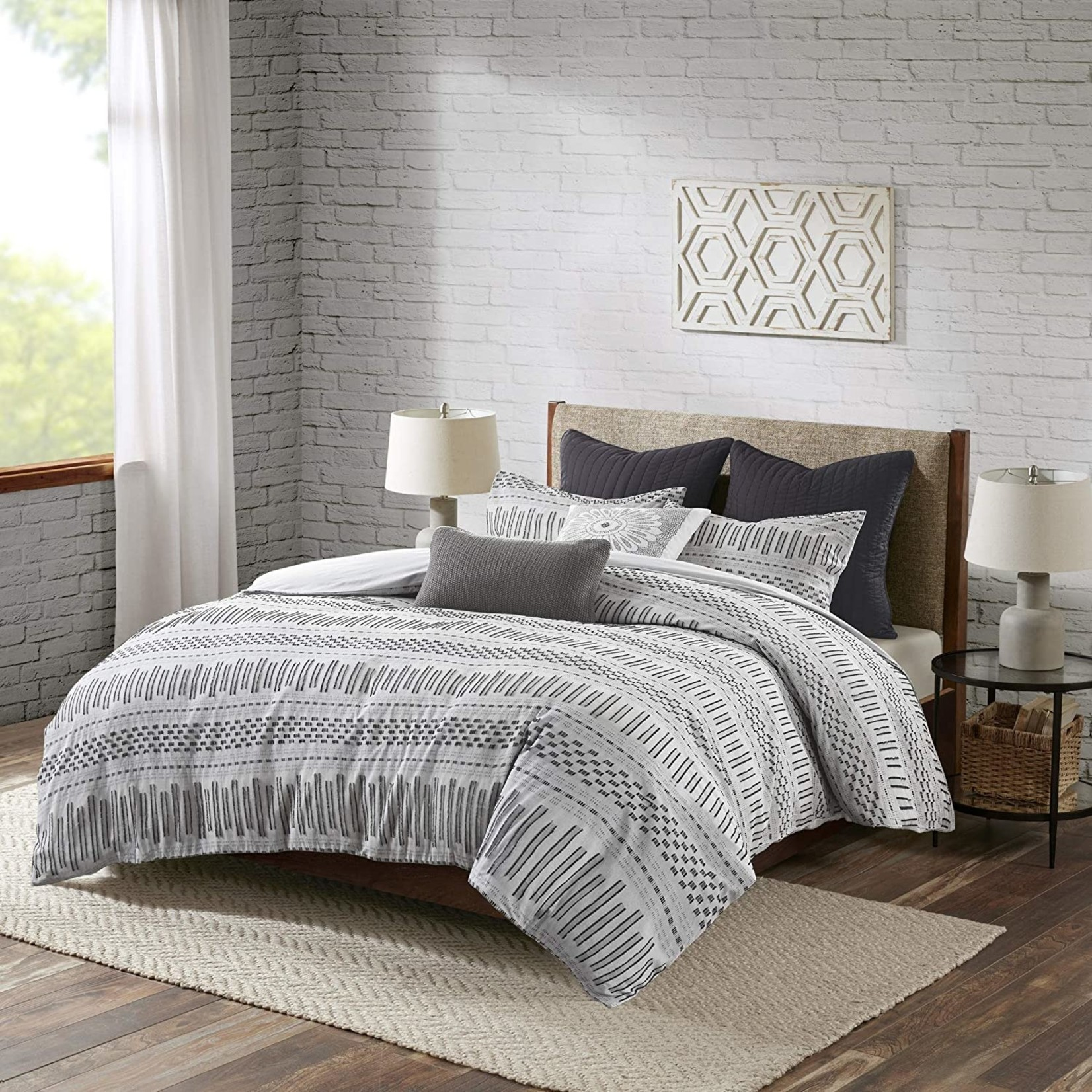 *King -  Comforter Mini Set - Grey - Final Sale