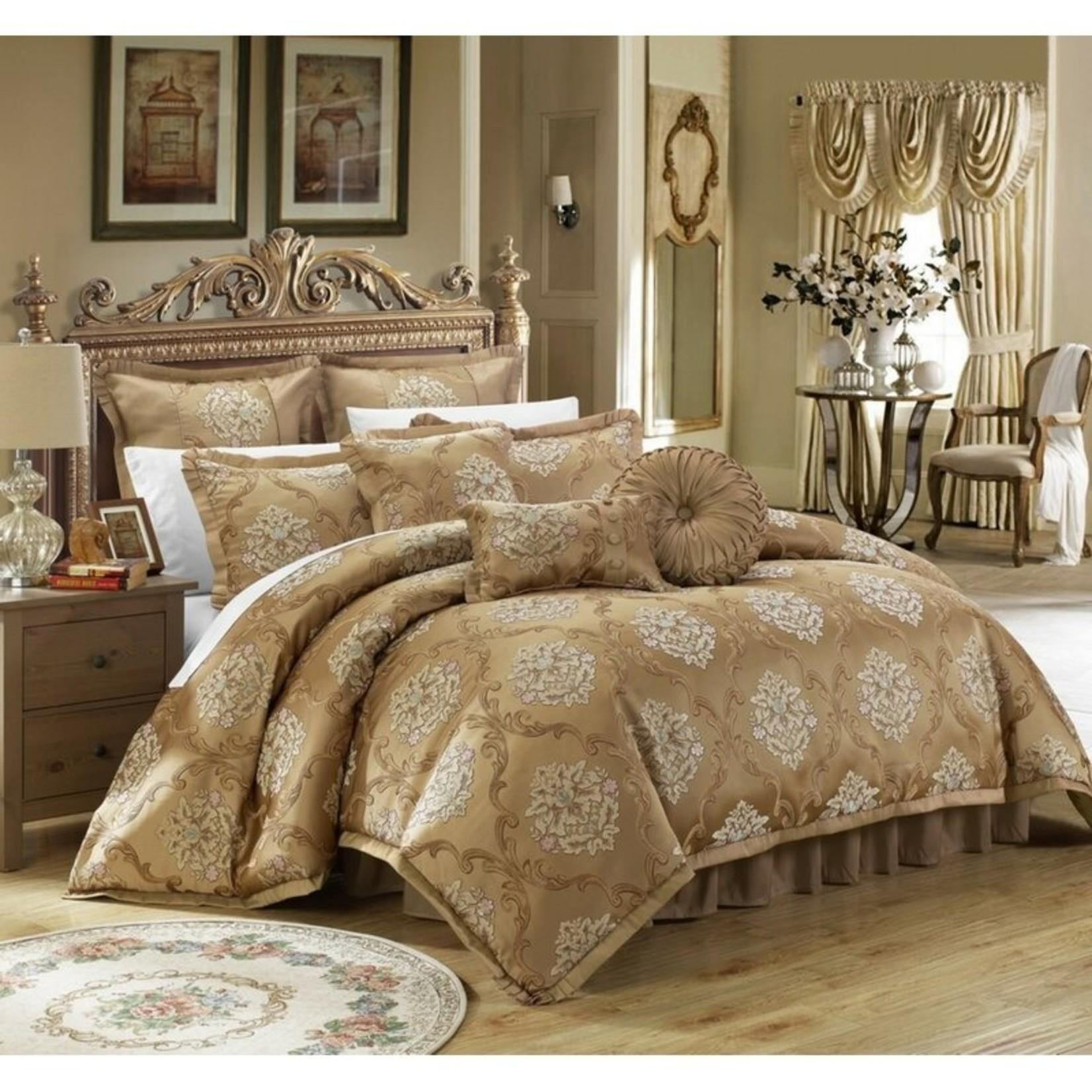 *King - Garlock 9 Piece Comforter Set - Final Sale