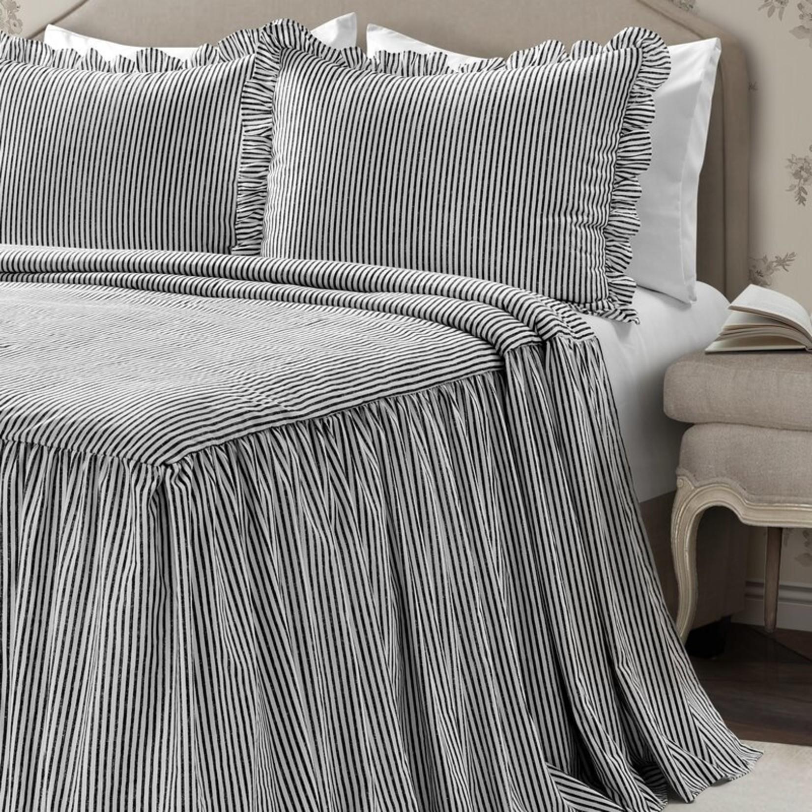 *Twin - Gabriel Ticking Stripe Bedspread Set - Final Sale