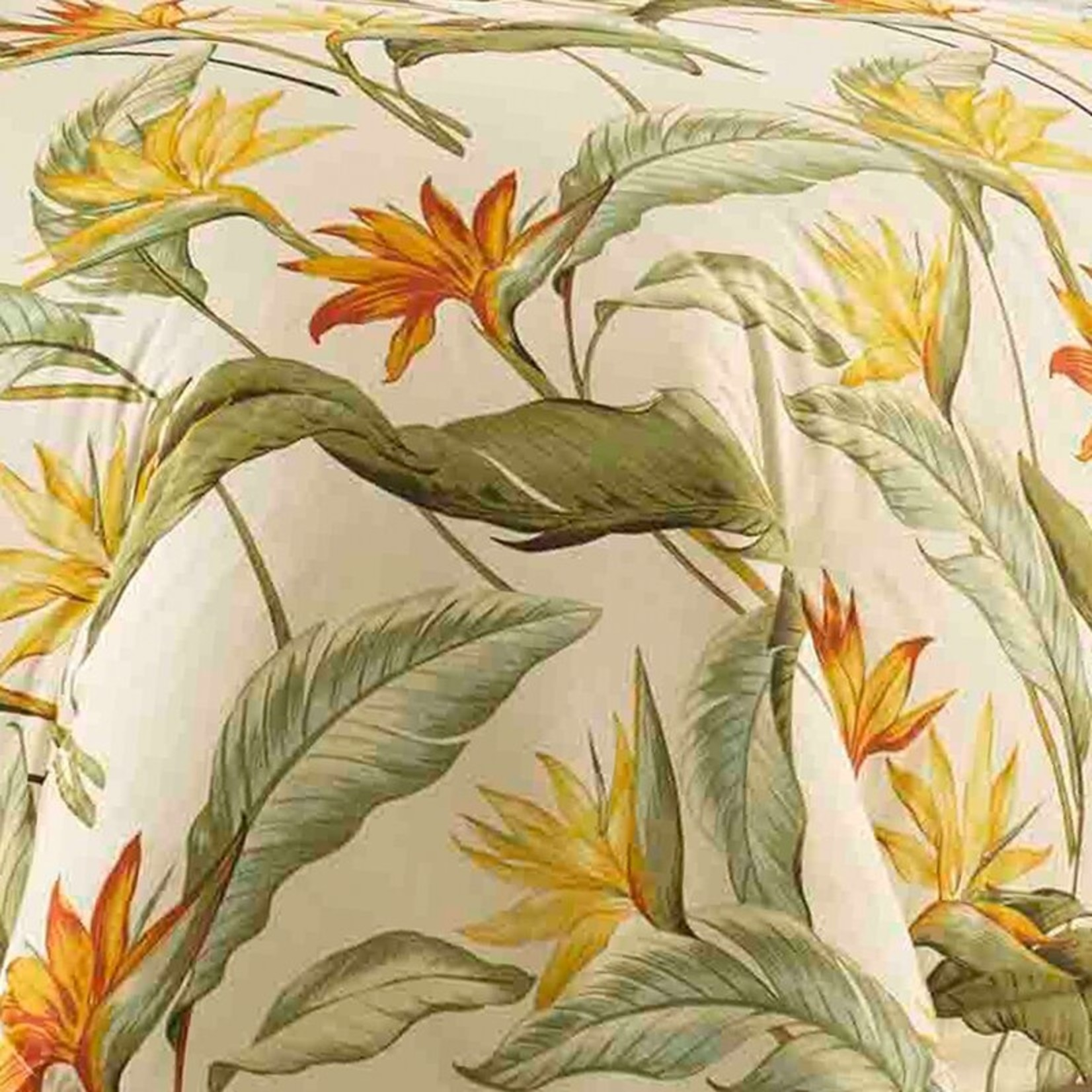 *Queen - Birds of Paradise Comforter Set - Final Sale