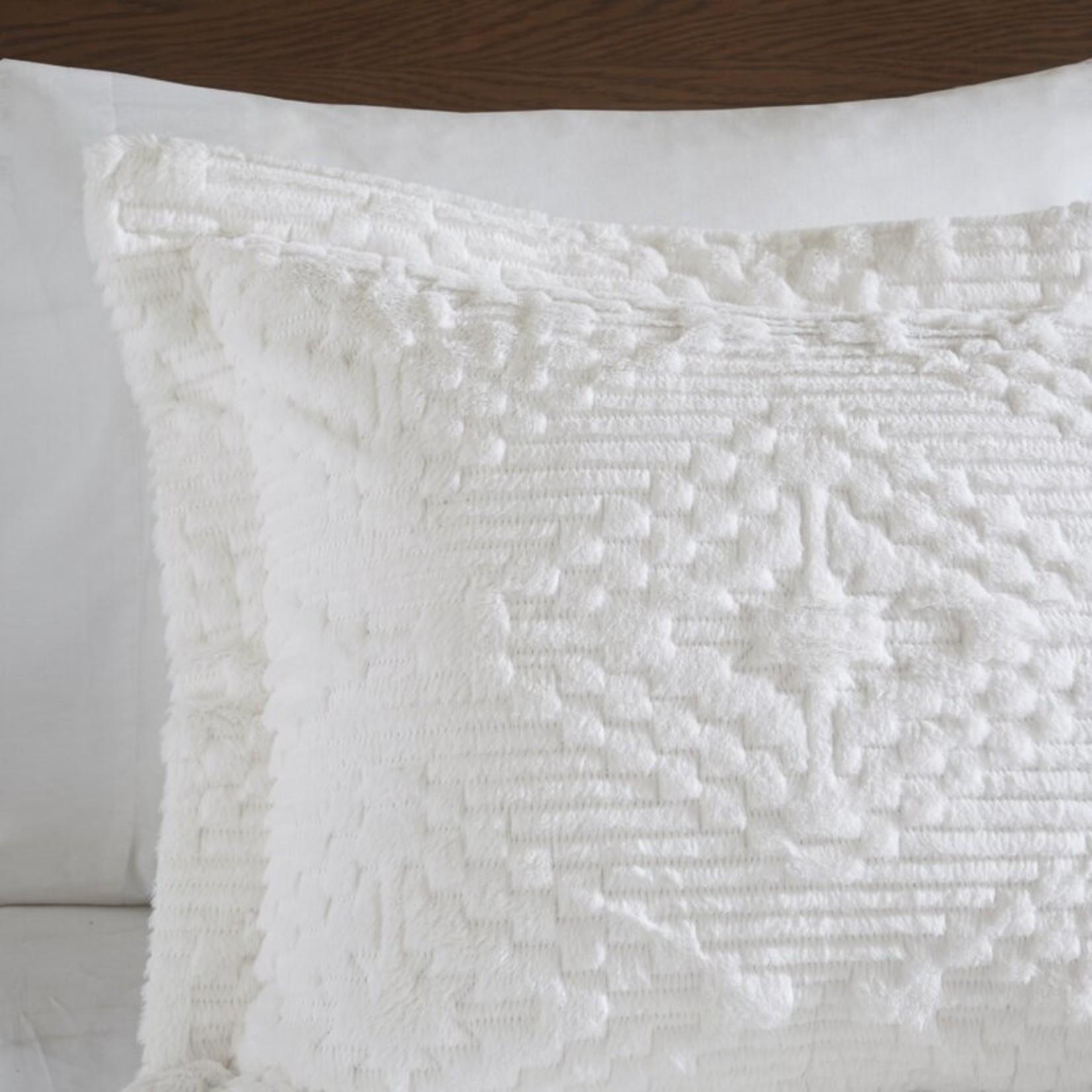 *Full/Queen - Teton Coverlet Set - White - Final Sale