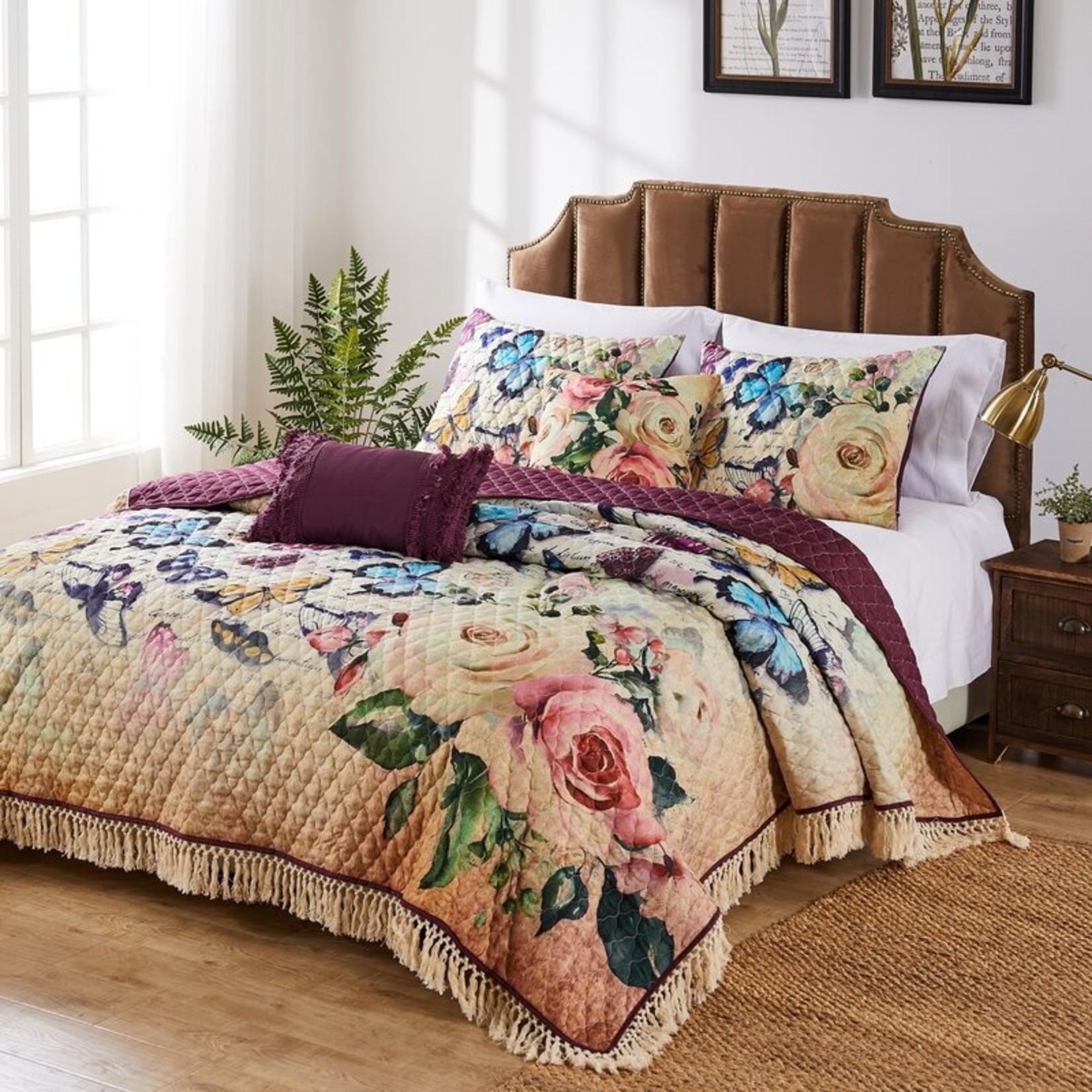 *Full/Queen - Shresbury Reversible Quilt Set - Final Sale