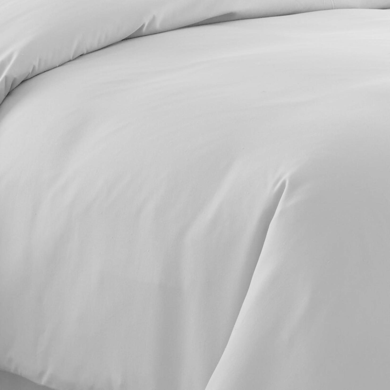 *Full/Queen - Acosta Polyester Duvet Cover Set - Gray - Final Sale