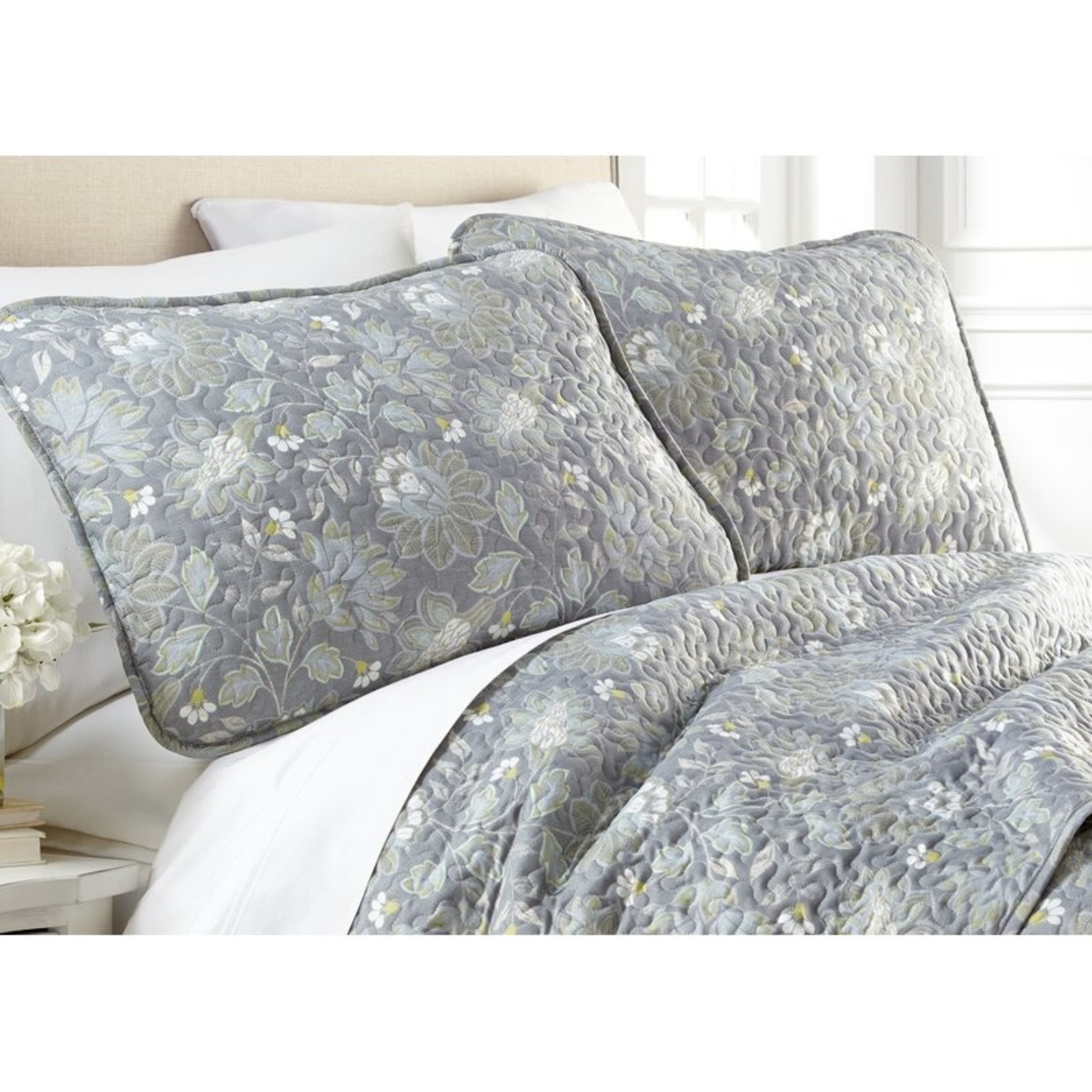 *King/Cal King - Stony Creek Infinite Blossom Lightweight Reversible Quilt Set - Final Sale