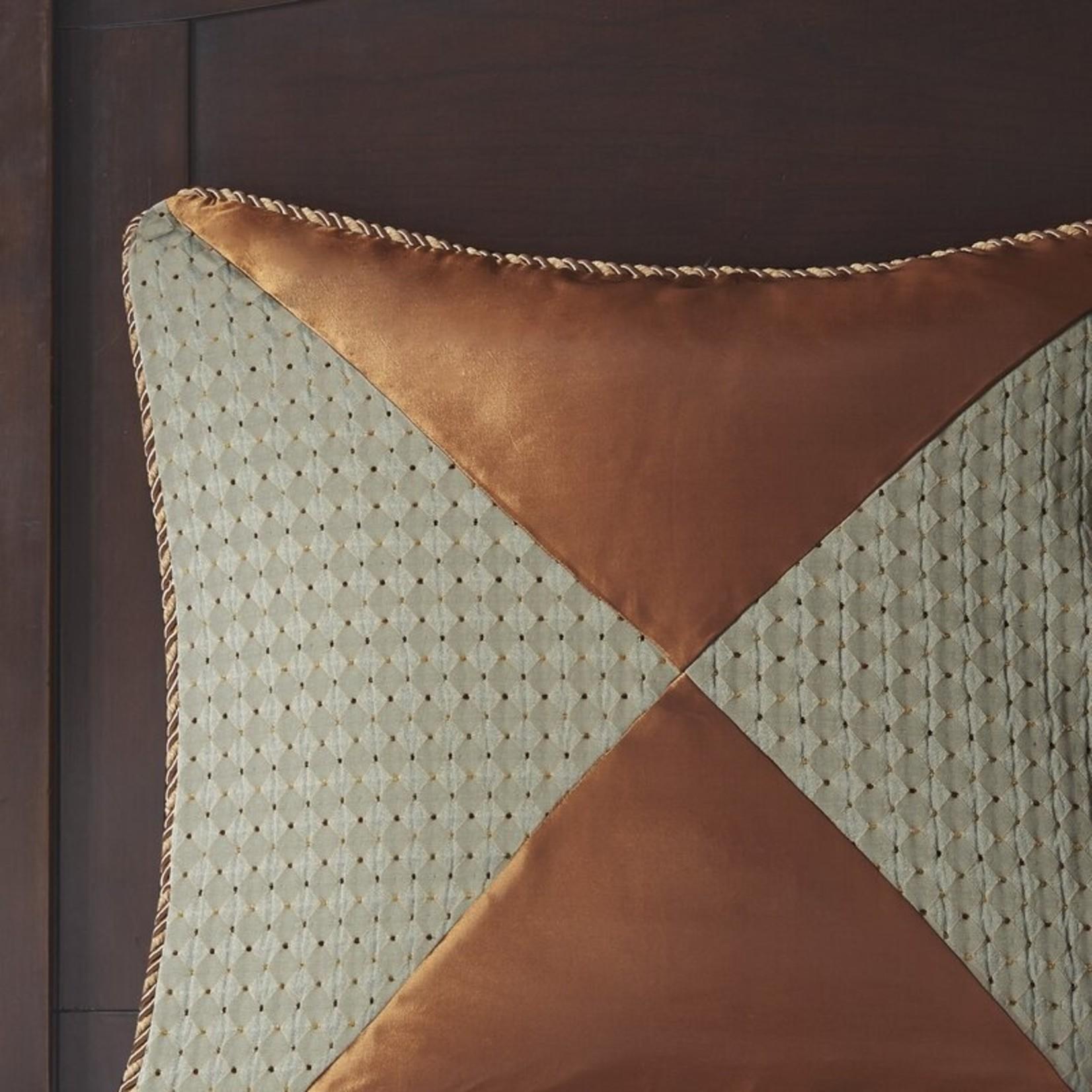 *Queen - Canovia Springs Damask 9 Piece Comforter Set - Final Sale