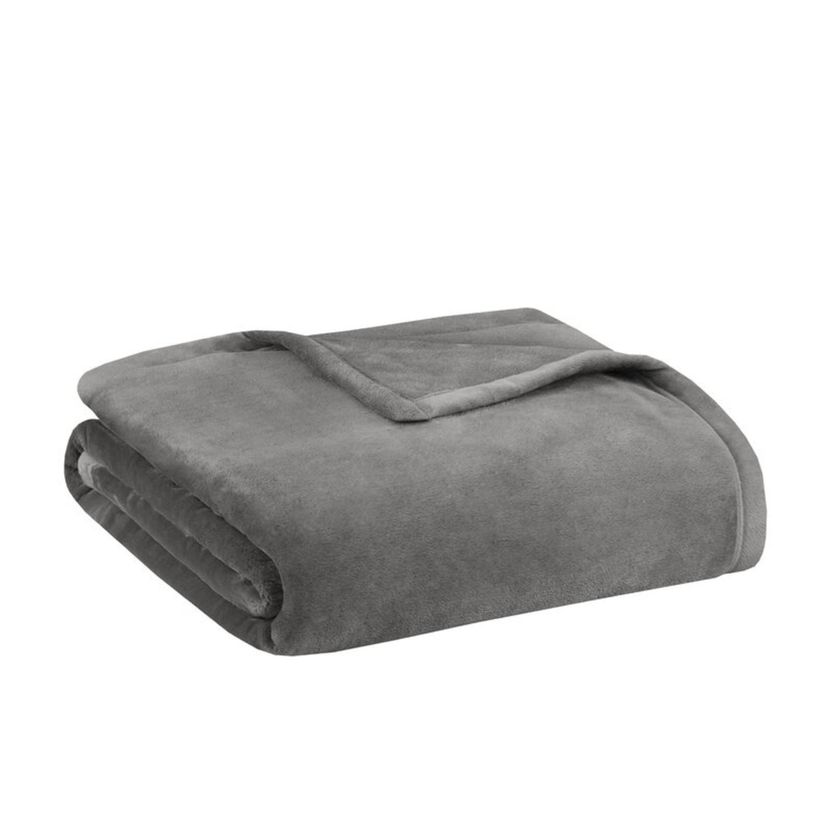 *Full/Queen - Quintanilla Ultra Premium Blanket - Gray - Final Sale