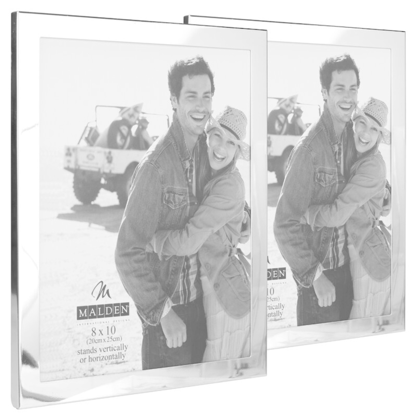 """*Essentials Picture Frame - 8"""" x 10"""" - Silver"""
