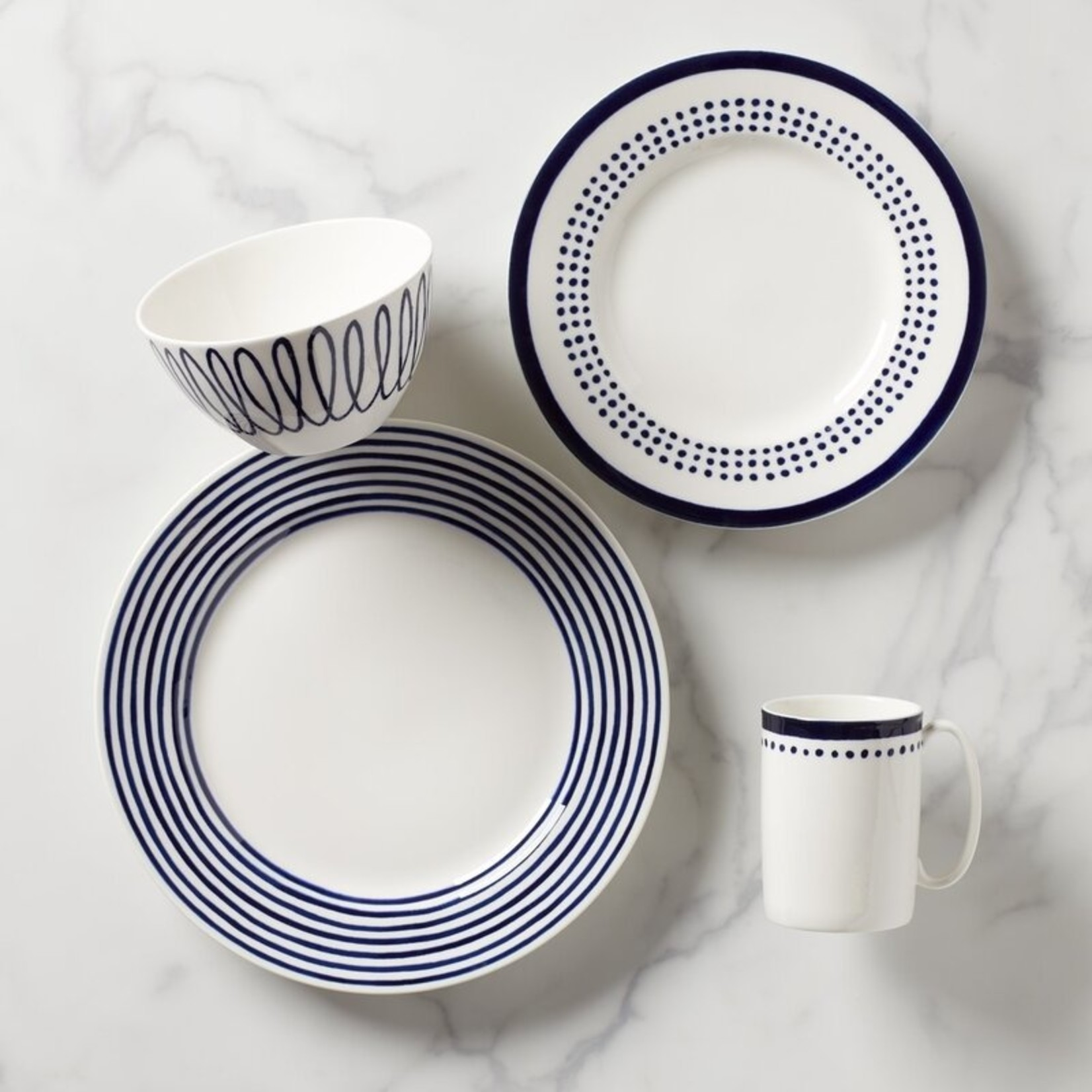 *Charlotte Street East 4 Piece Place Setting, Service for 1