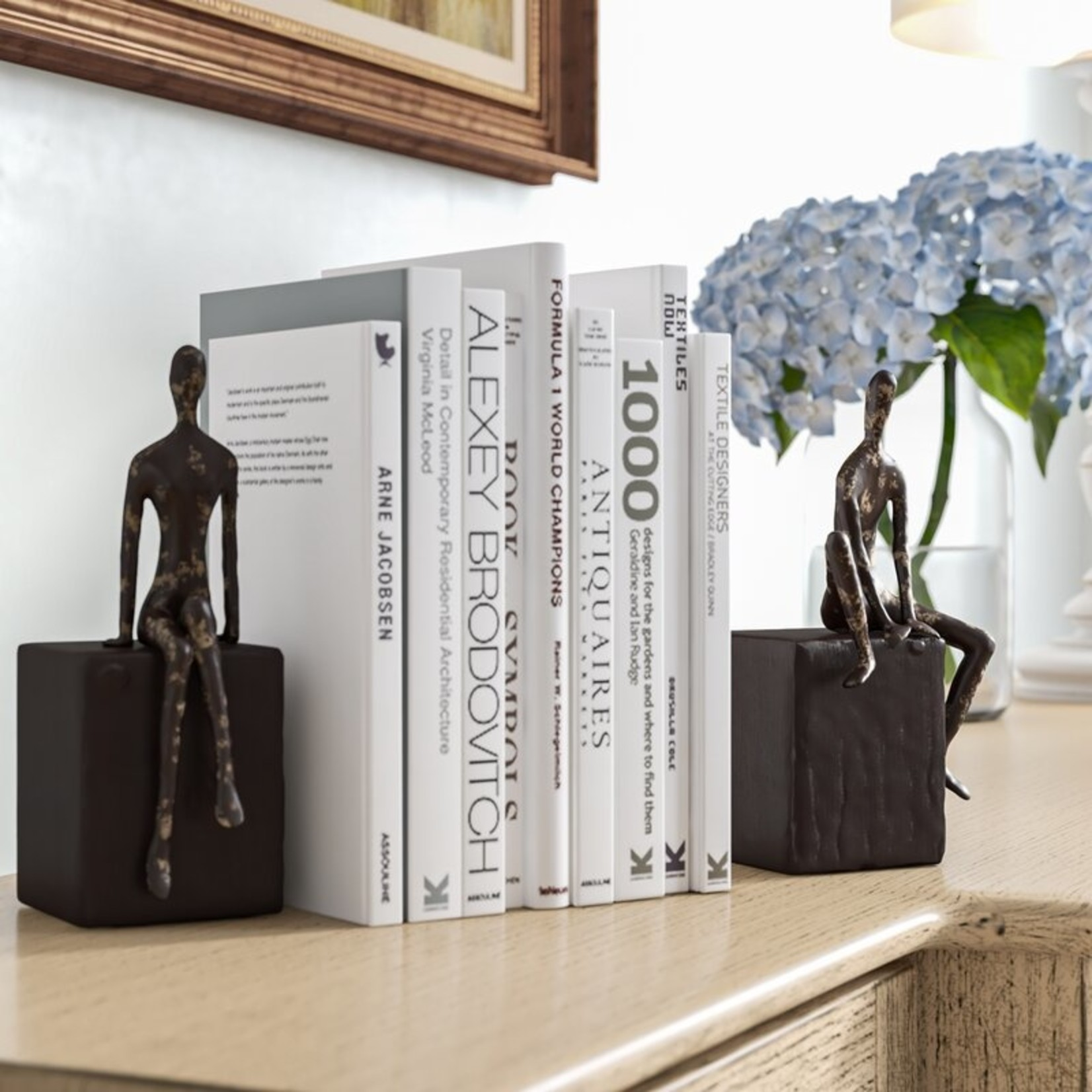 *Alta Non-skid Bookends (Set of 2)