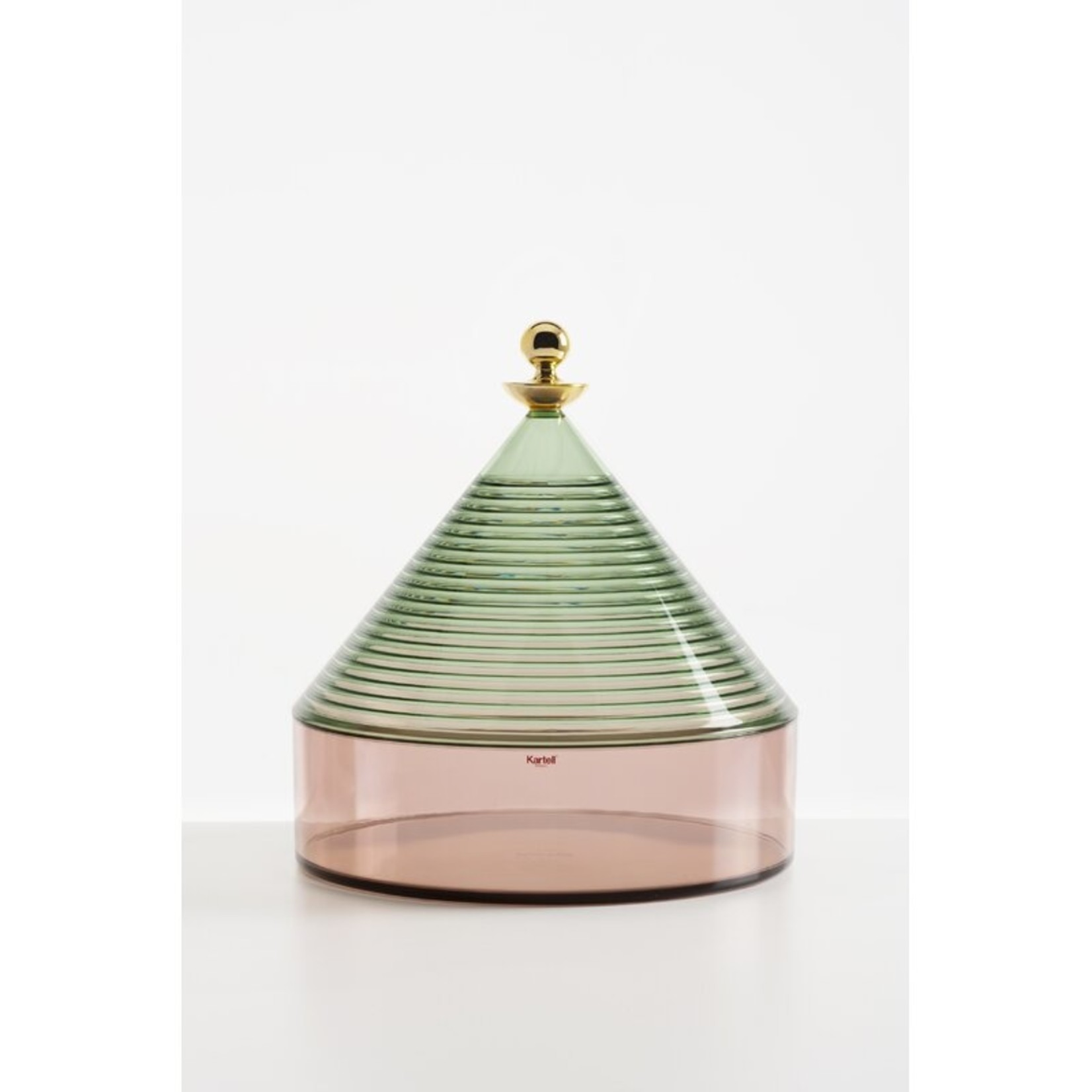 *Trullo Decorative Box - Sage/Pink