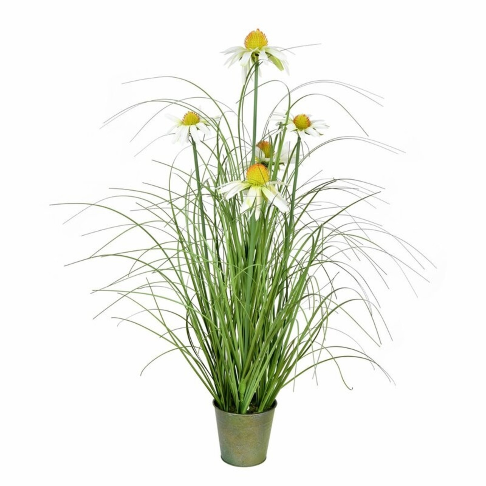 *Artificial Grass in Pot
