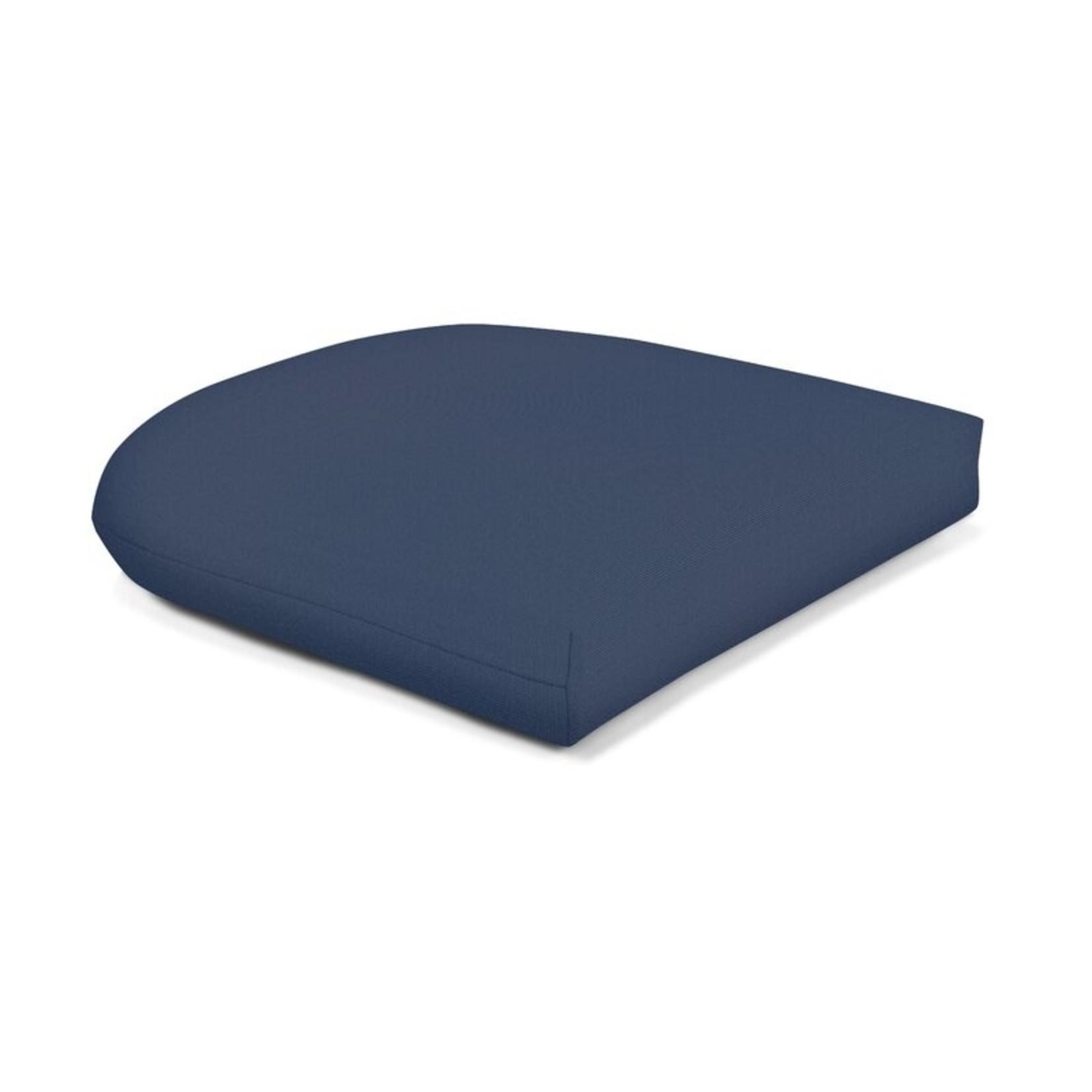 *Outdoor Sunbrella Seat Cushion - Set of 4 - Blue