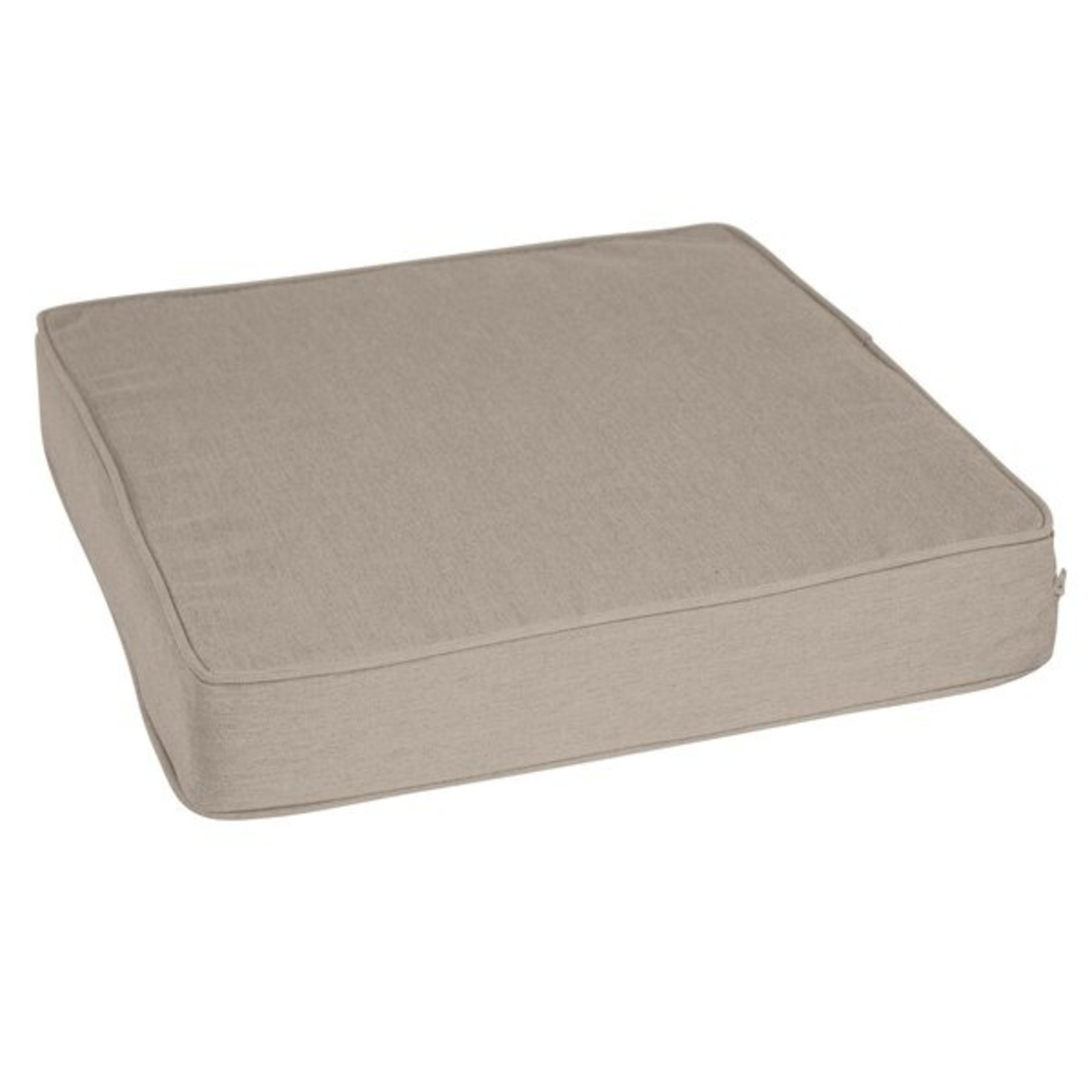*Outdoor Sunbrella Seat Cushion - Cast Ash - Set of 2