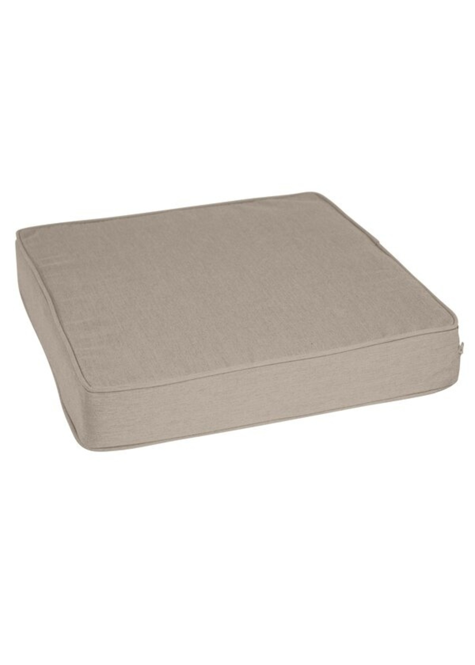 *Outdoor Sunbrella Seat Cushion - Cast Ash - Set of 2 (Final Sale)