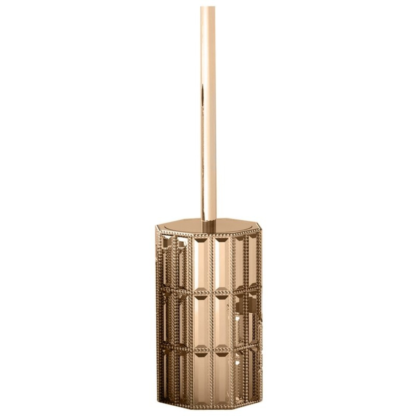 *Haylie 6.54in. H Free Standing Toilet Brush and Holder