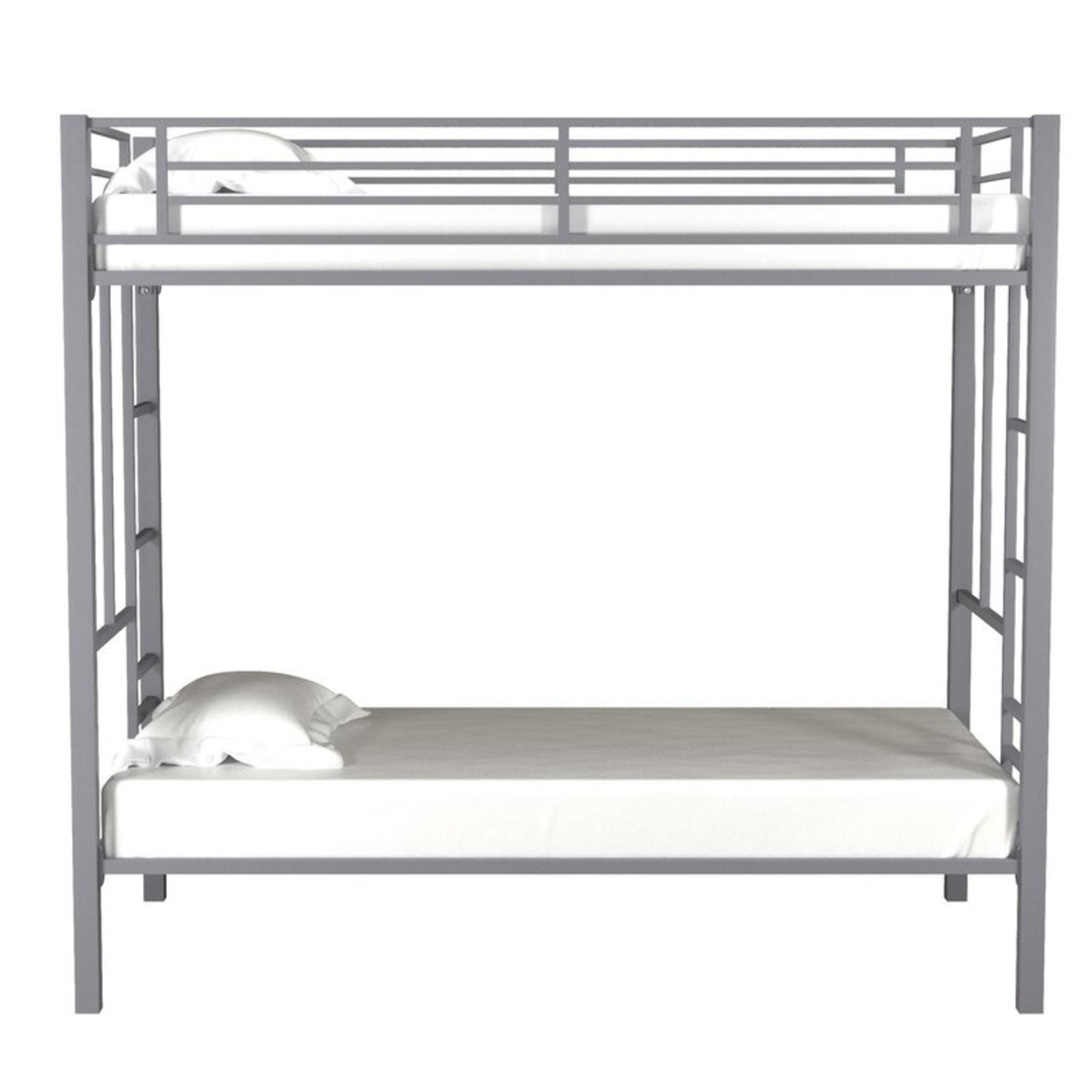 *Ardin Twin over Twin Bunk Bed - Silver