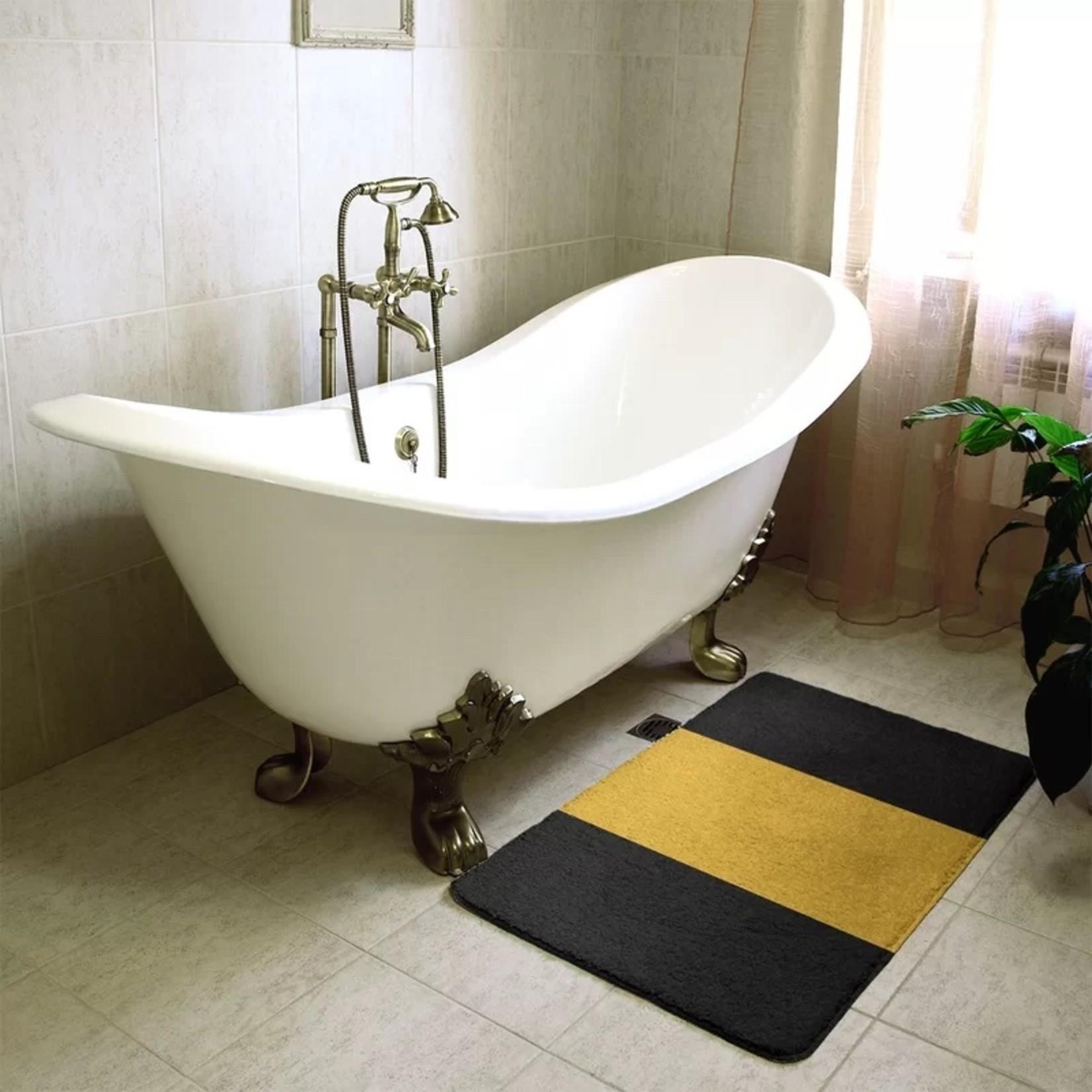 "*17"" x 24"" - Missouri Stripes Bath Rug"