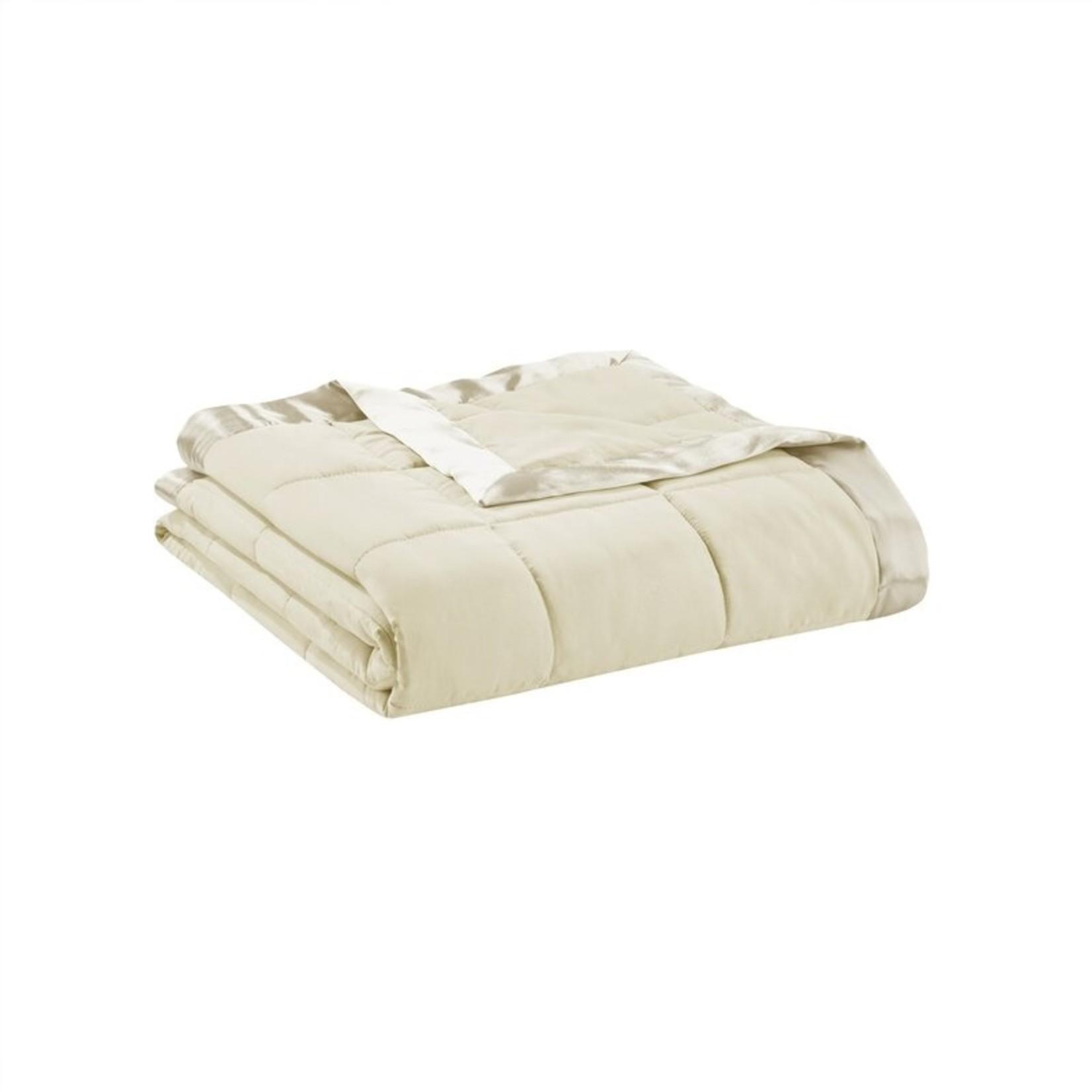 *Full/Queen - Elma Blanket - Ivory - Final Sale