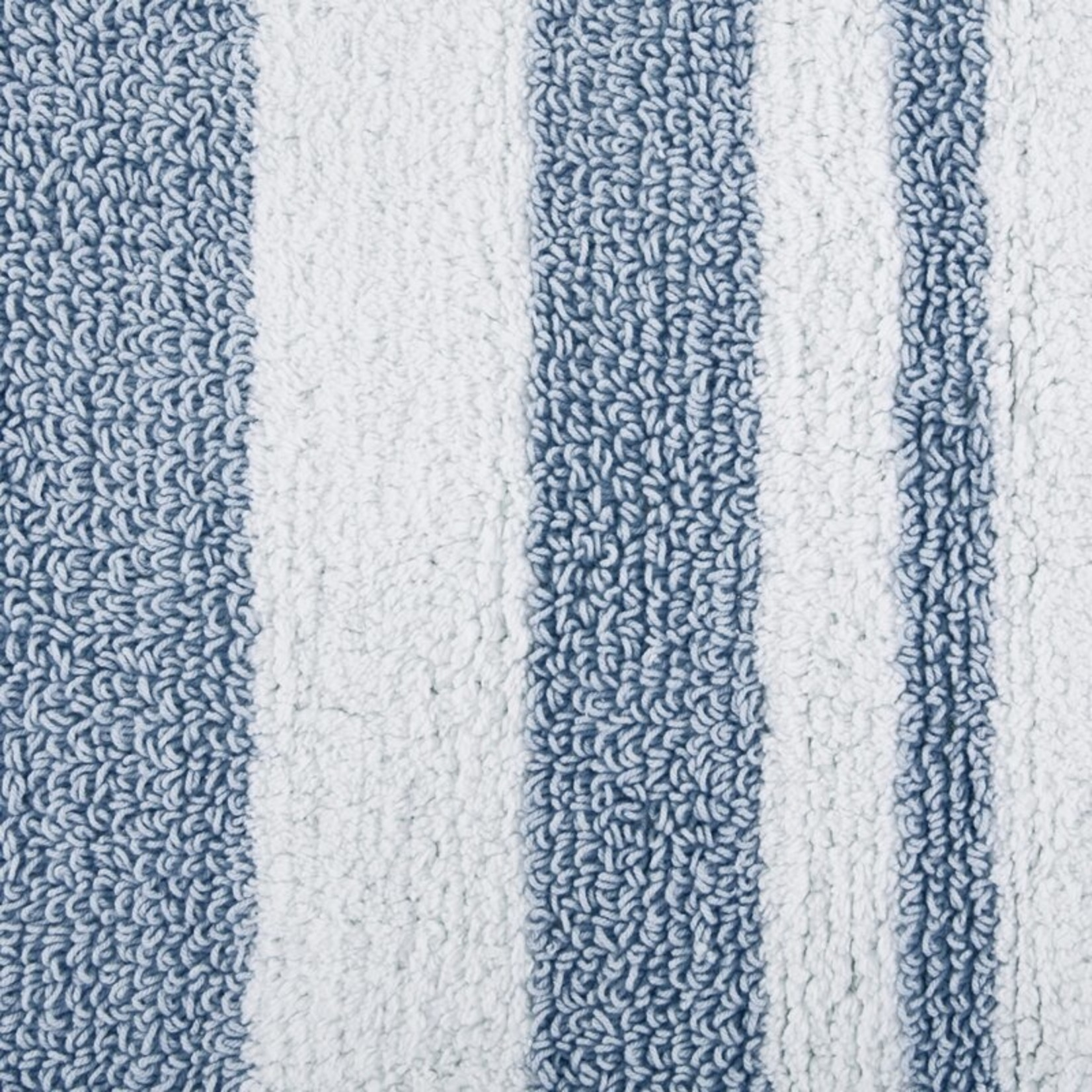 "*20"" x 30"" - Rosenbloom Rectangular 100% Cotton Striped Bath Rug"