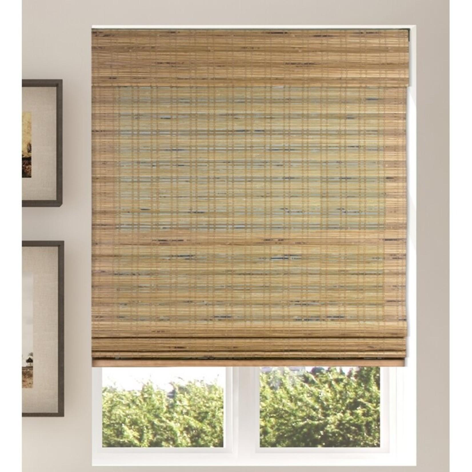 """*Semi-Sheer Roman Bamboo Shade - 29""""W x 60""""L"""