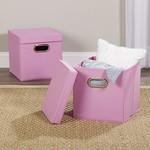 *Wayfair Basics Fabric Box - Pink - Set of 2