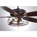 *Ceiling Fan Cover - Antique Brass - Cover only (Final Sale)