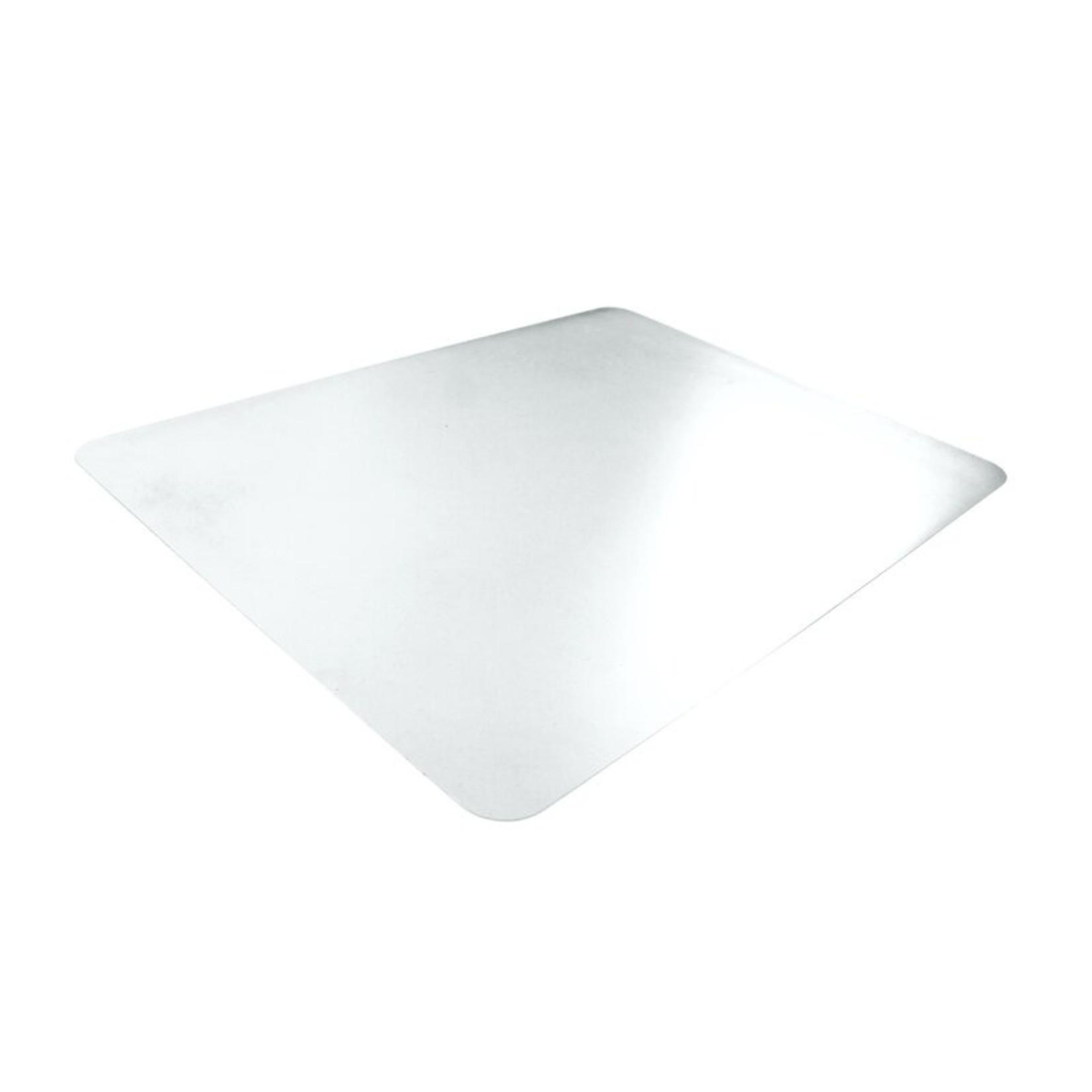 "*48"" x 32"" - Hometex Anti-Microbial Vinyl Straight Edge Table Protector"