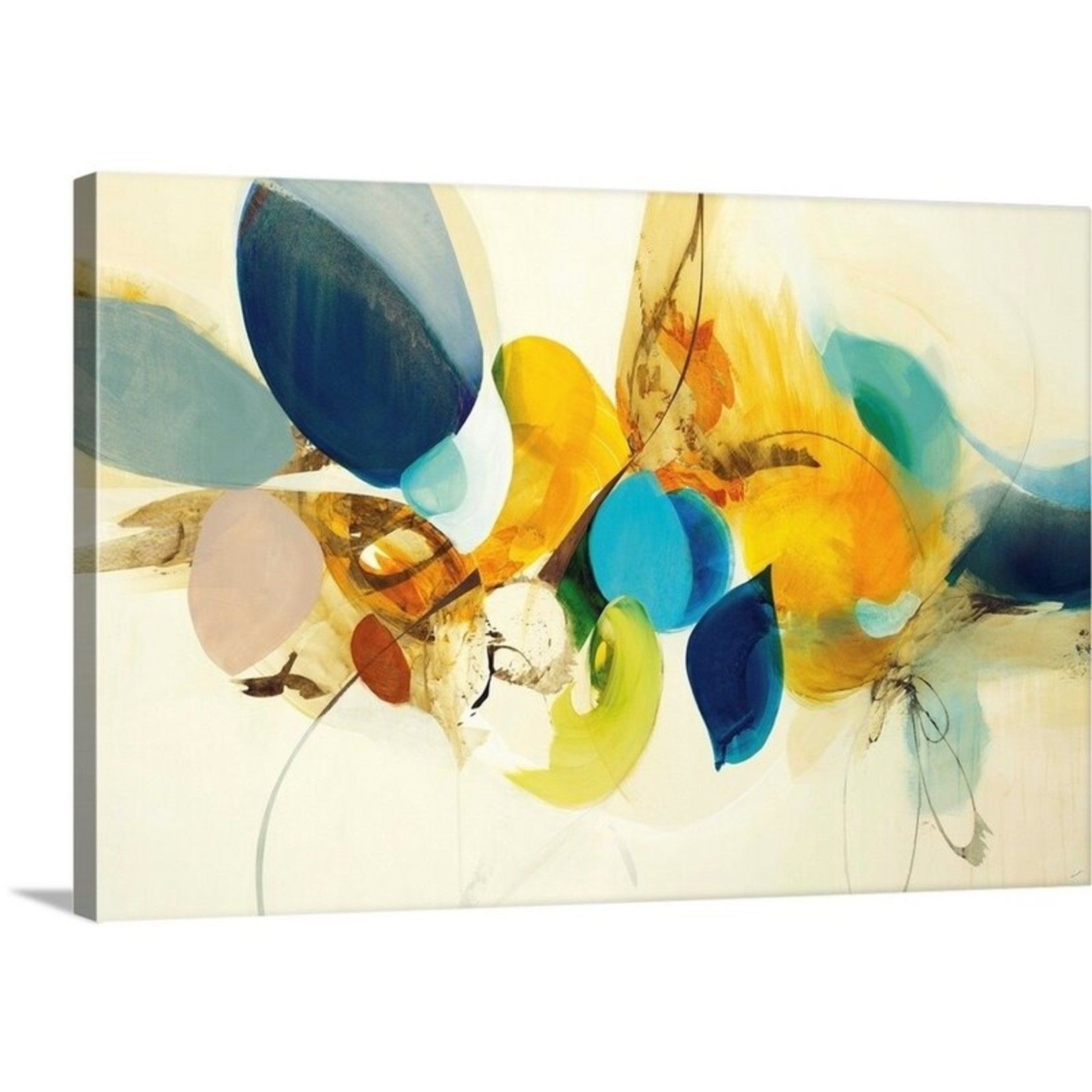 """*24"""" x 16"""" - Candid Color' by Sarah Stockstill Painting Print"""