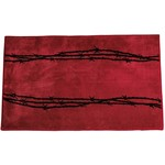 """*24"""" x 60"""" -Indian Wells Barbwire Bath and Kitchen Rug"""