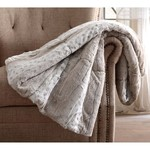 *Snow Leopard Gift Boxed Throw - Neutral