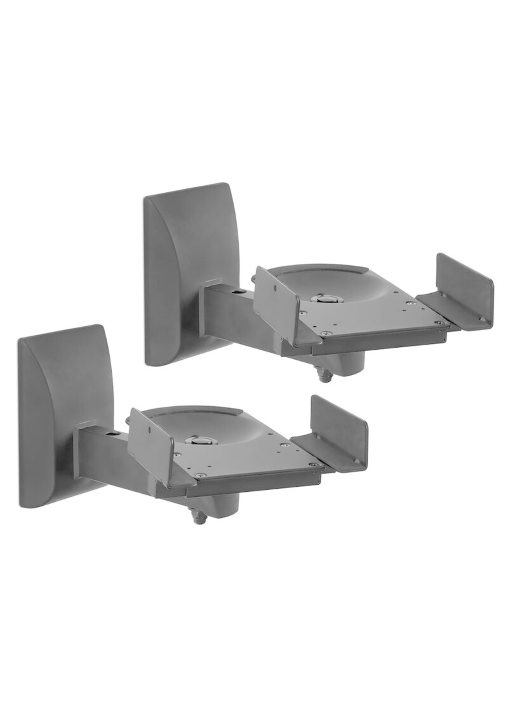 *Grier Side Clamping Bookshelf Universal Wall Mount (Set of 2) - Mounts Only - FINAL SALE