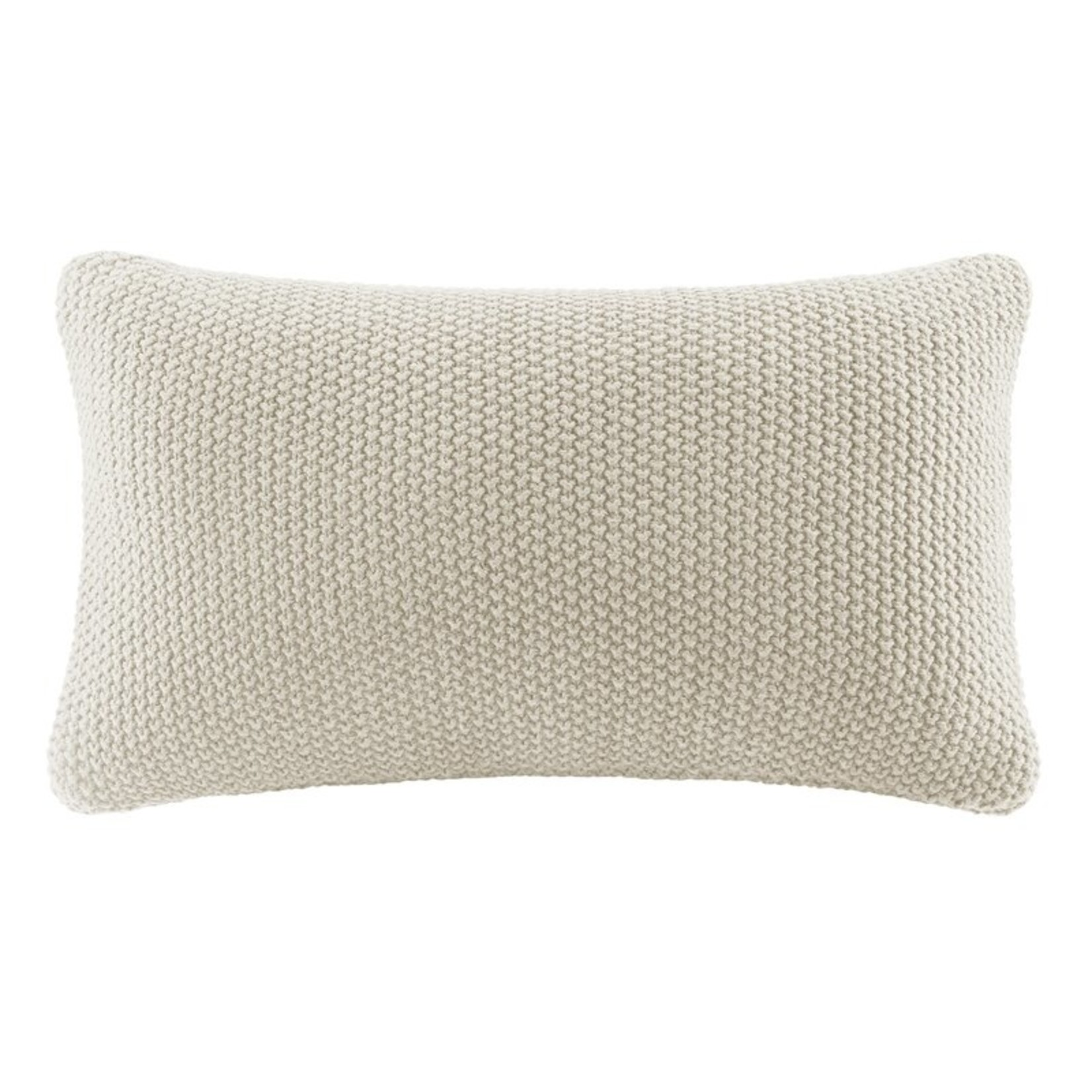 *Elliott Knit Lumbar Pillow Cover - Ivory (COVER ONLY)