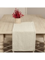 """*36"""" x 13"""" - Nowell Table Runner - Creme"""