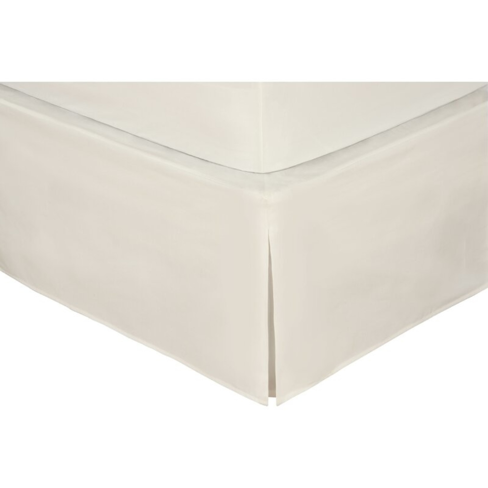 """*Twin - Rolande Wraparound Tailored 14"""" Bed Skirt - Ivory - Final Sale"""