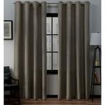 "*54""x 84"" - Heil Solid Color Semi-Sheer Grommet Curtain Panels - Set of 2"