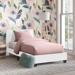 *Twin - Filon Platform Bed - White