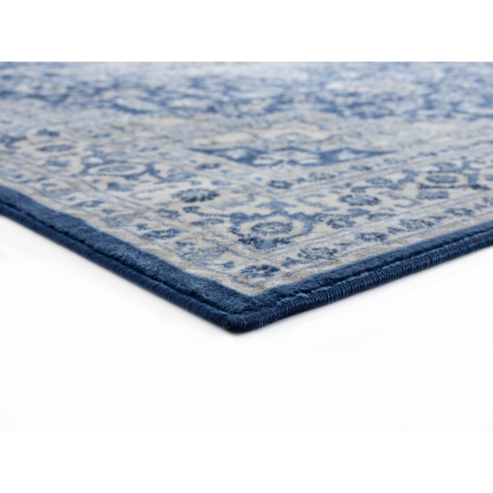 "*12'6"" x 15' - Olander Denim Blue Area Rug - Final Sale"