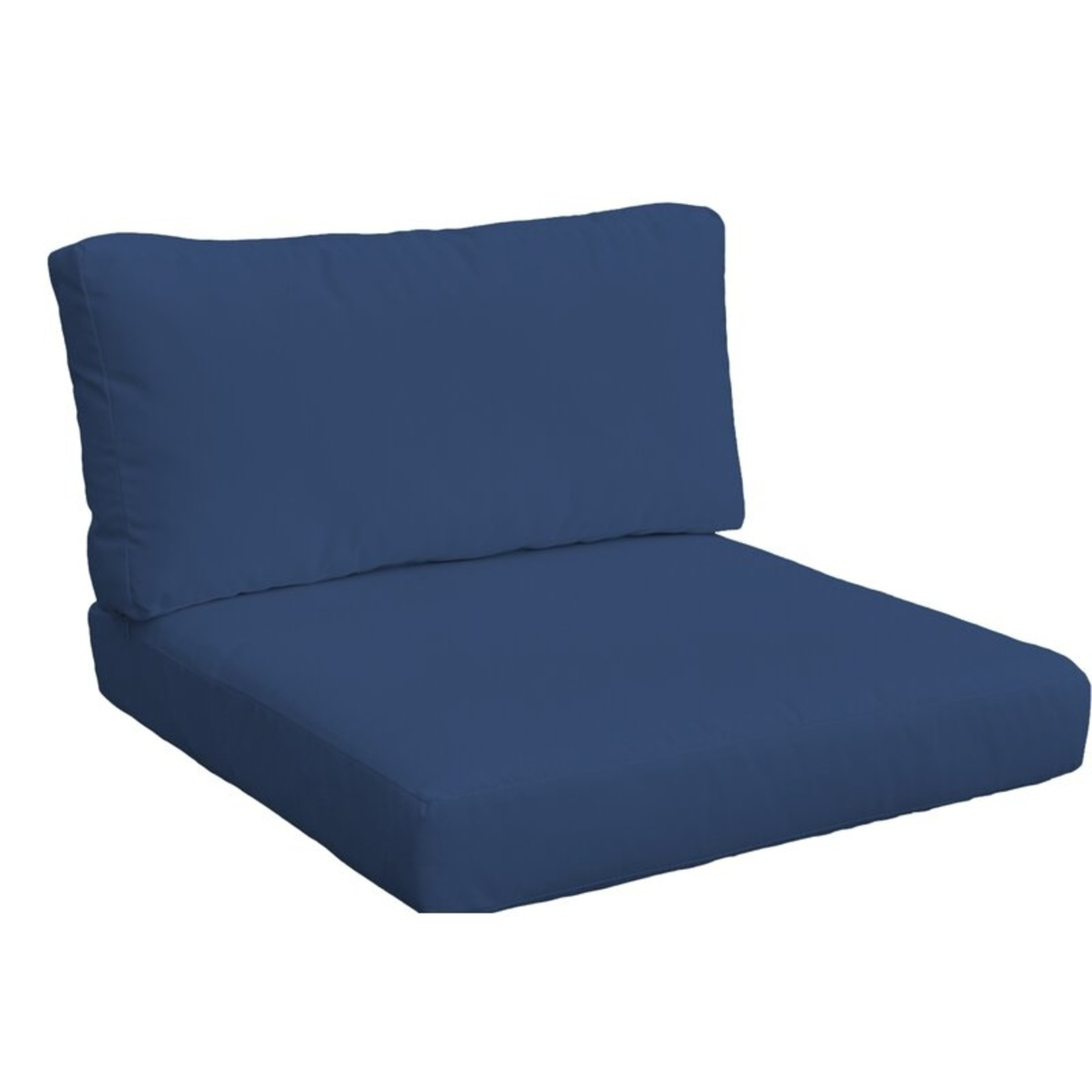 *Indoor/Outdoor Cushion Cover - Navy - 2 Seats. 2 Backs - Covers Only