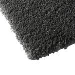 "*17"" x 24"" - Grande Rectangular Polyester Non-Slip Solid Bath Mat - Gray"