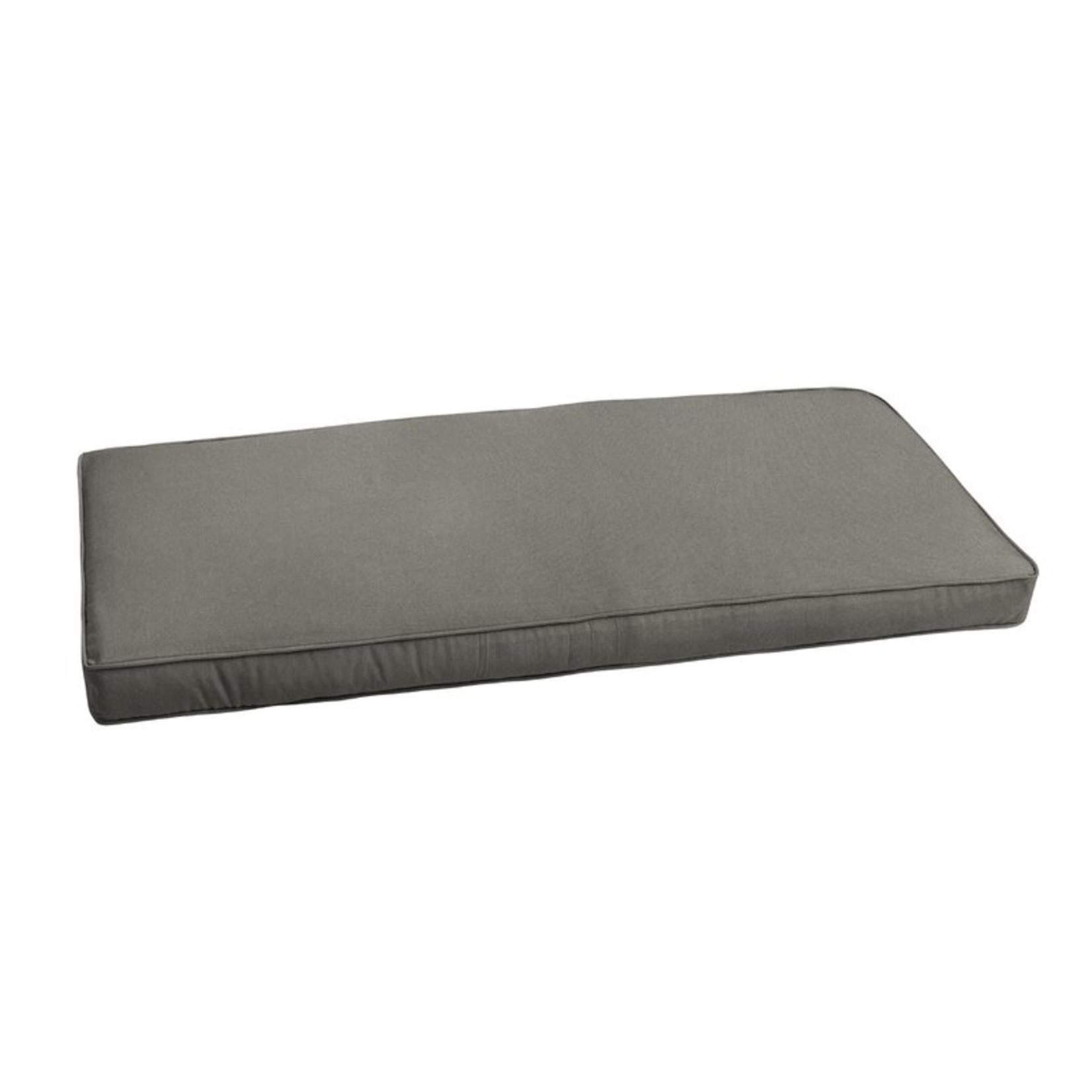 *Outdoor Sunbrella Seat Cushion - Canvas Charcoal