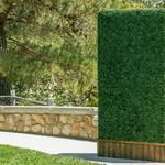 "*20"" x 20"" - Artificial Boxwood Hedge Greenery Panels Turf - Set of 12"